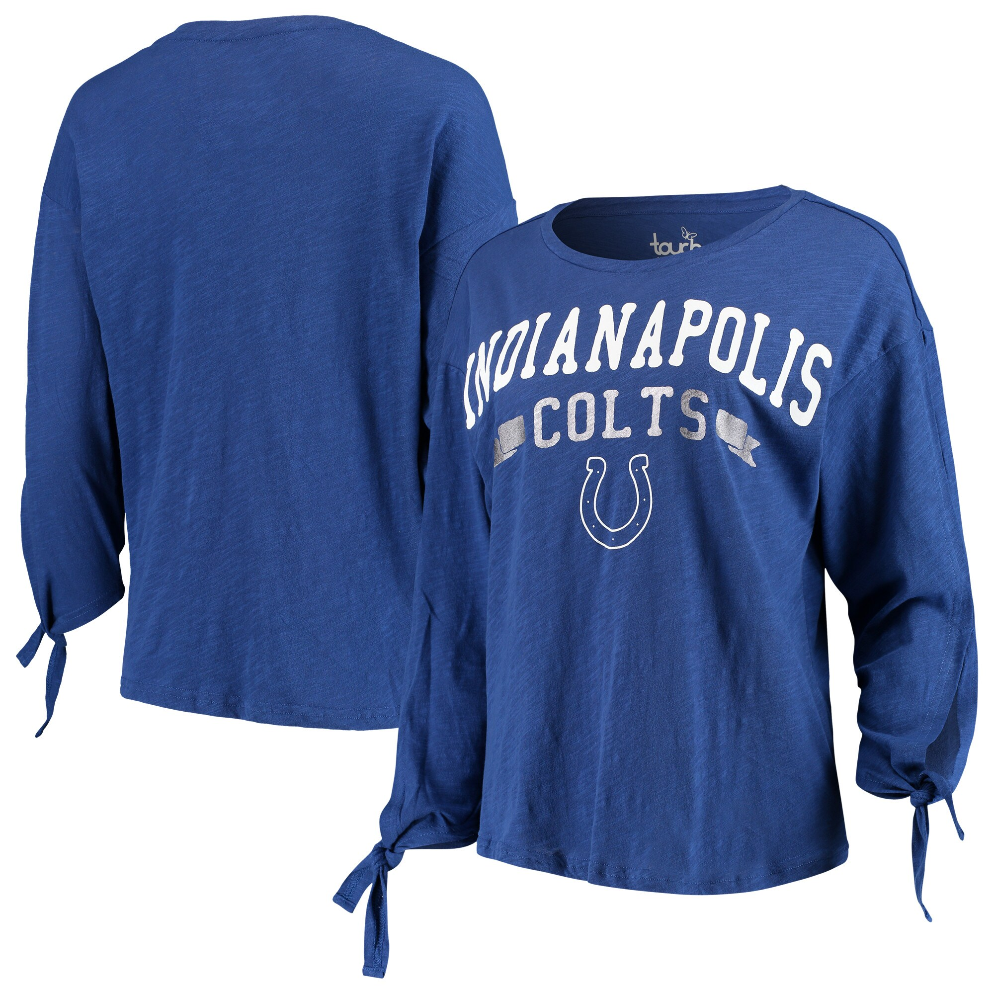 Indianapolis Colts Touch by Alyssa Milano Women's On The Fly Long Sleeve T-Shirt - Royal