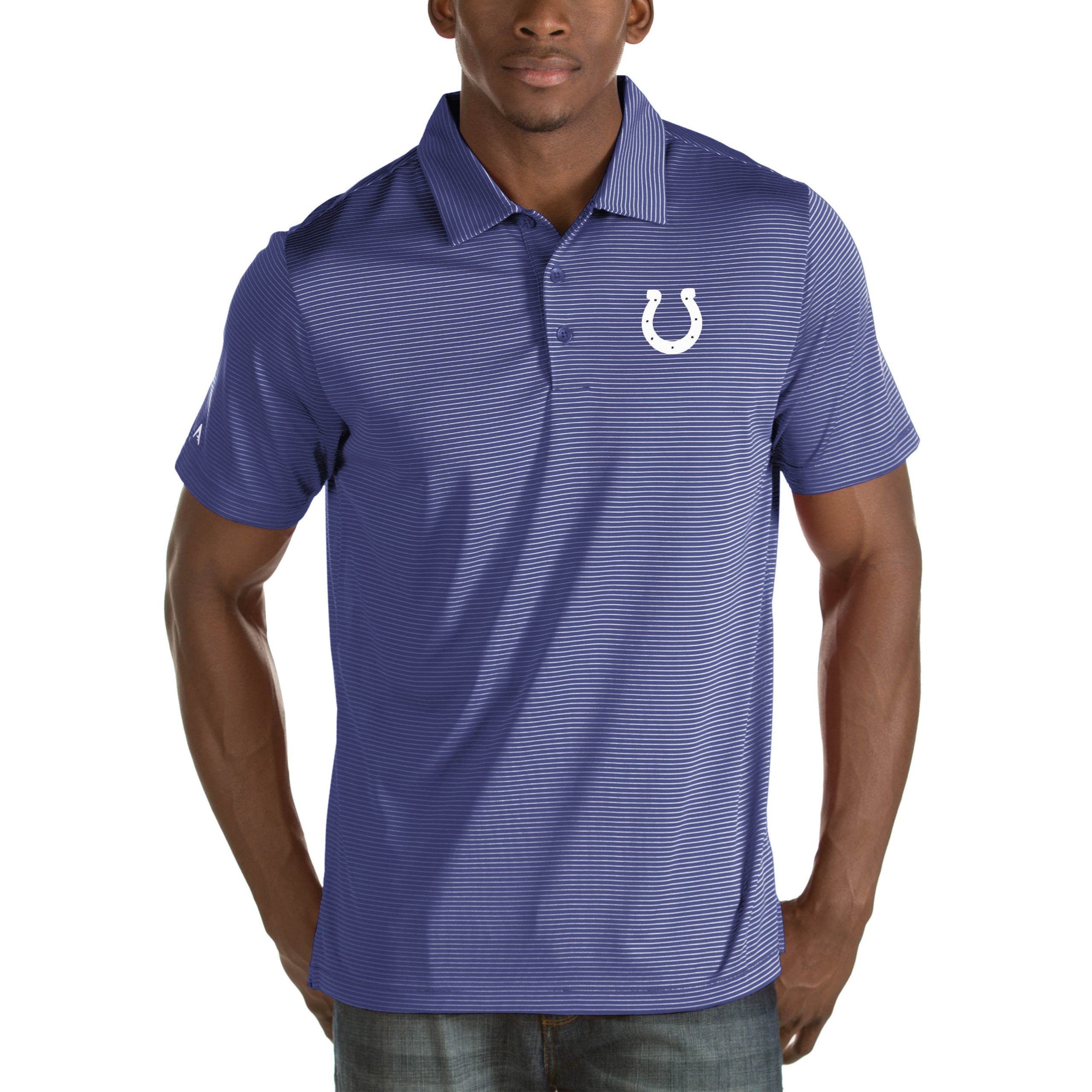 Indianapolis Colts Antigua Quest Big & Tall Polo - Royal