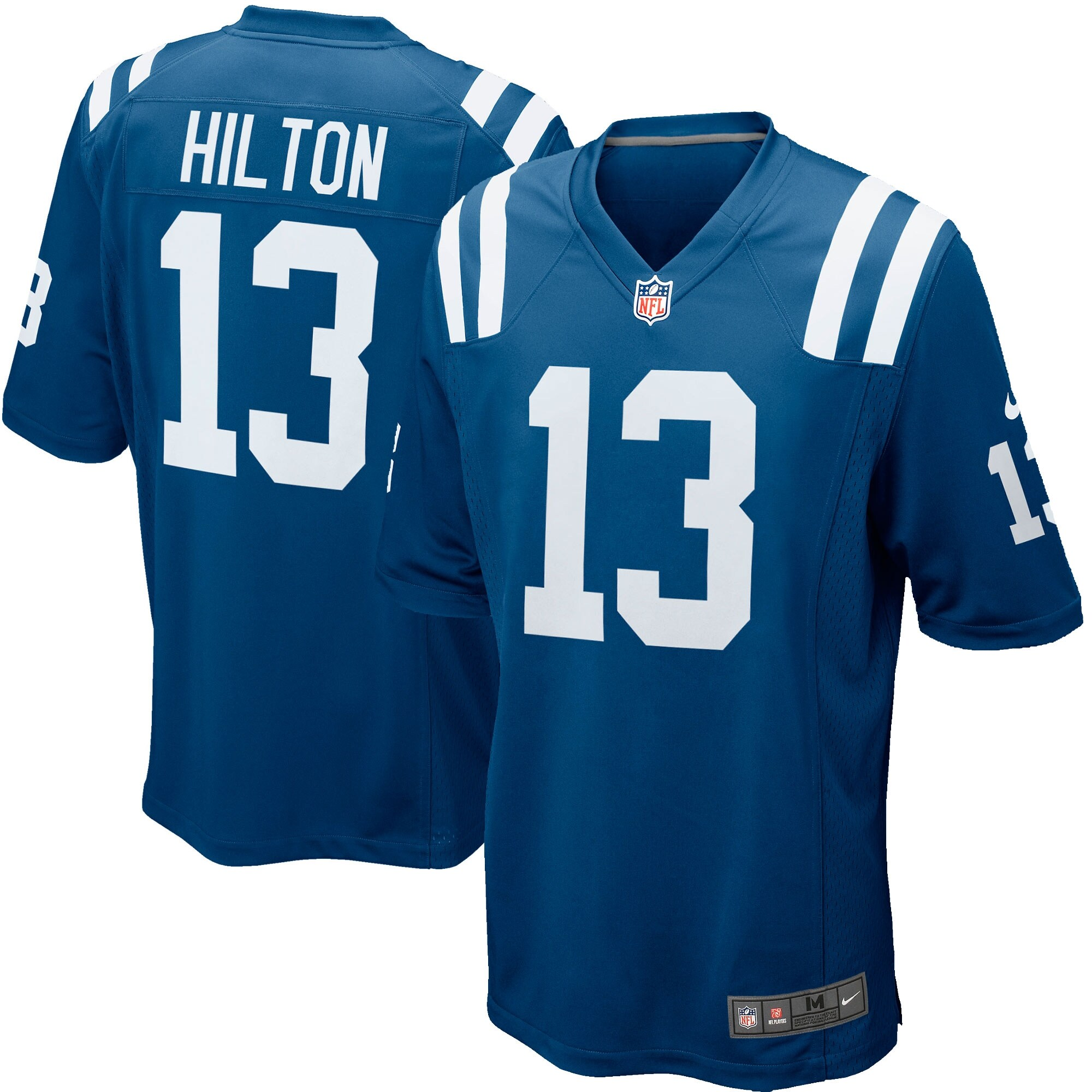 T.Y. Hilton Indianapolis Colts Nike Game Jersey - Royal Blue