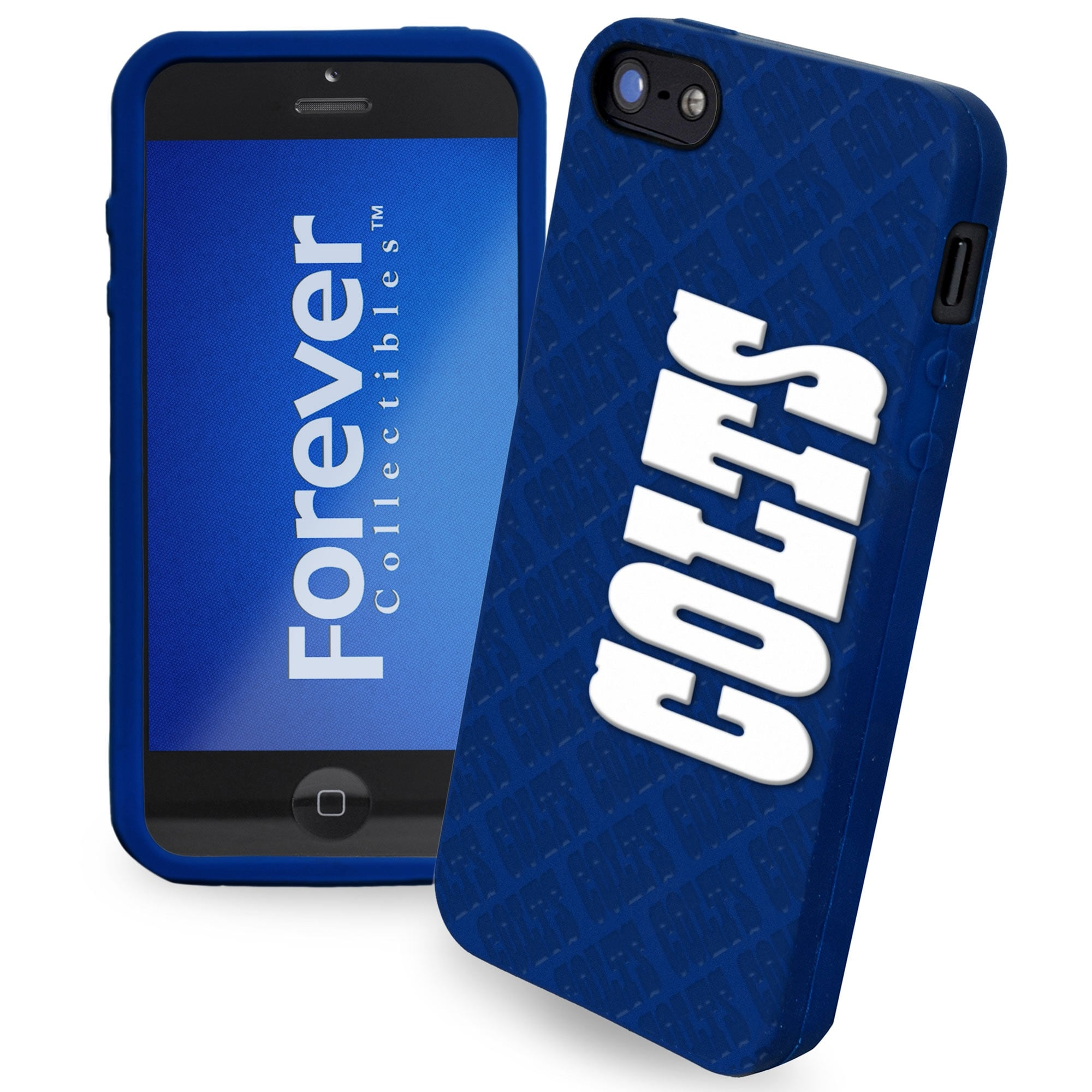 Indianapolis Colts Silicone iPhone 5 Cover - Royal Blue