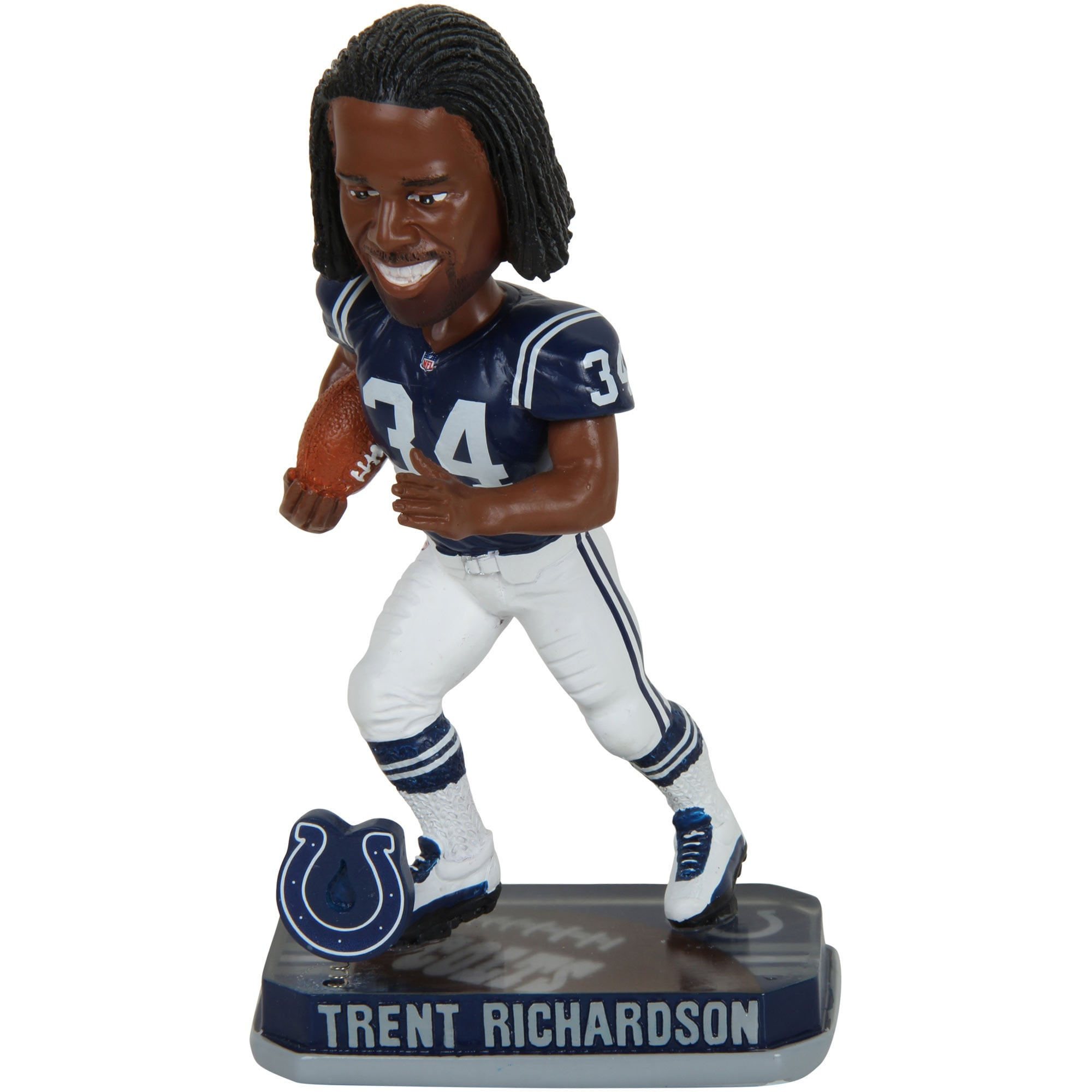 Trent Richardson Indianapolis Colts Springy Logo Bobblehead