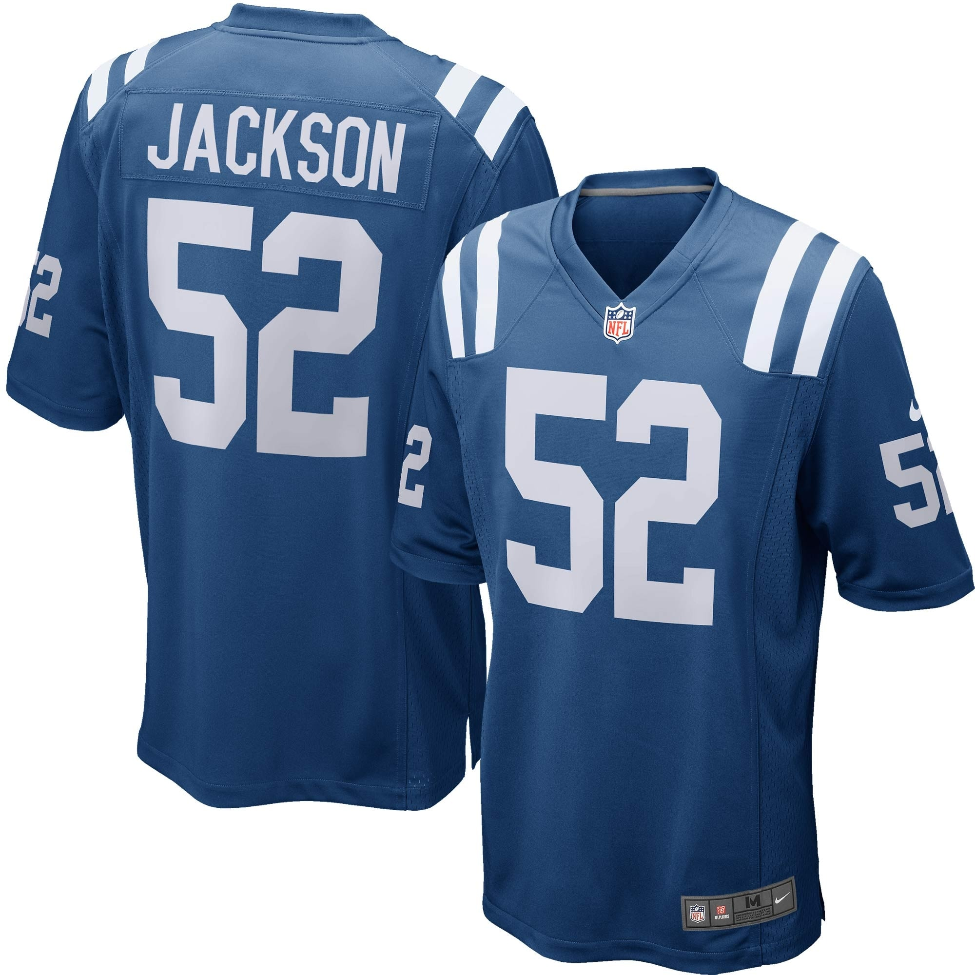D'Qwell Jackson Indianapolis Colts Nike Game Jersey - Royal