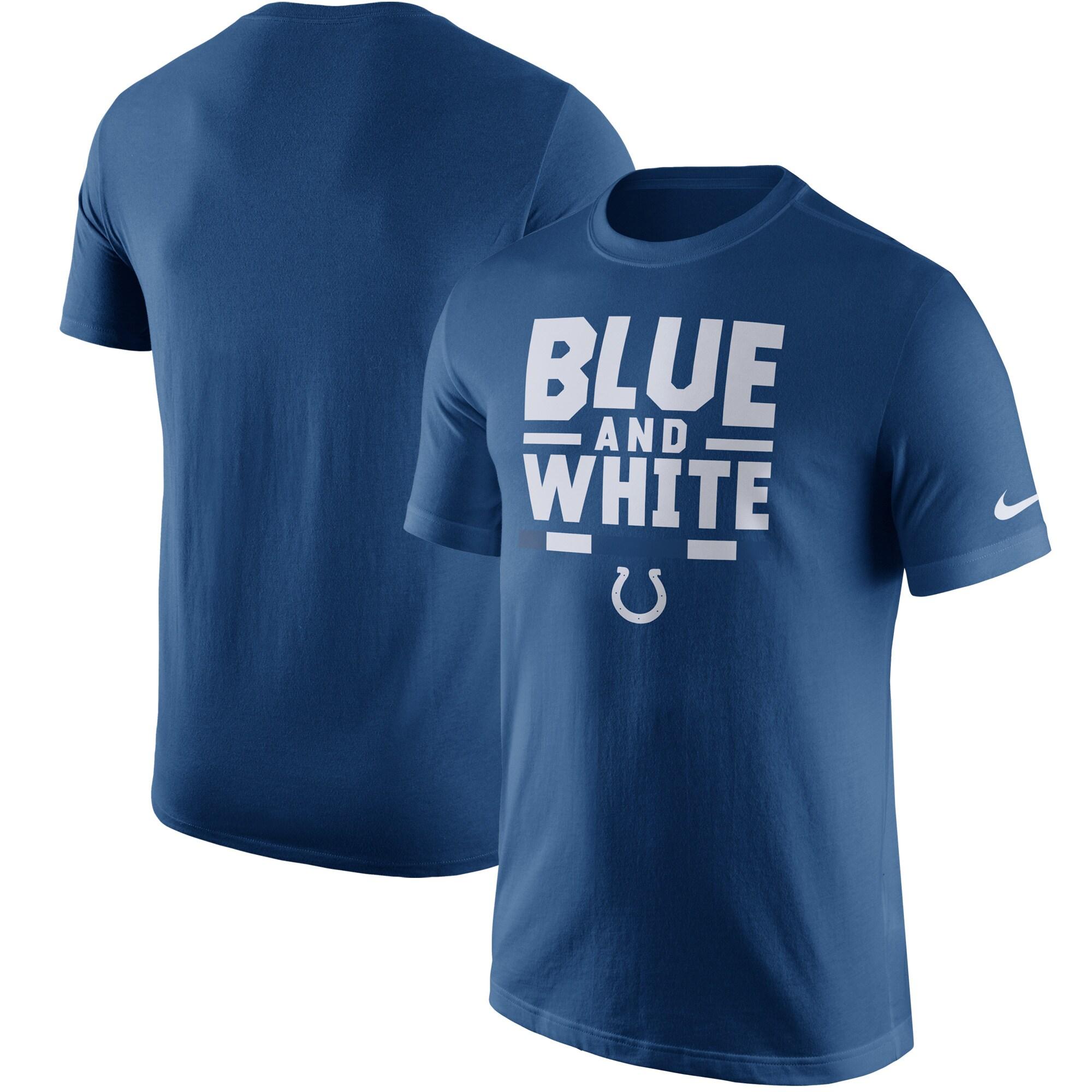 Indianapolis Colts Nike Local Verbiage T-Shirt - Royal