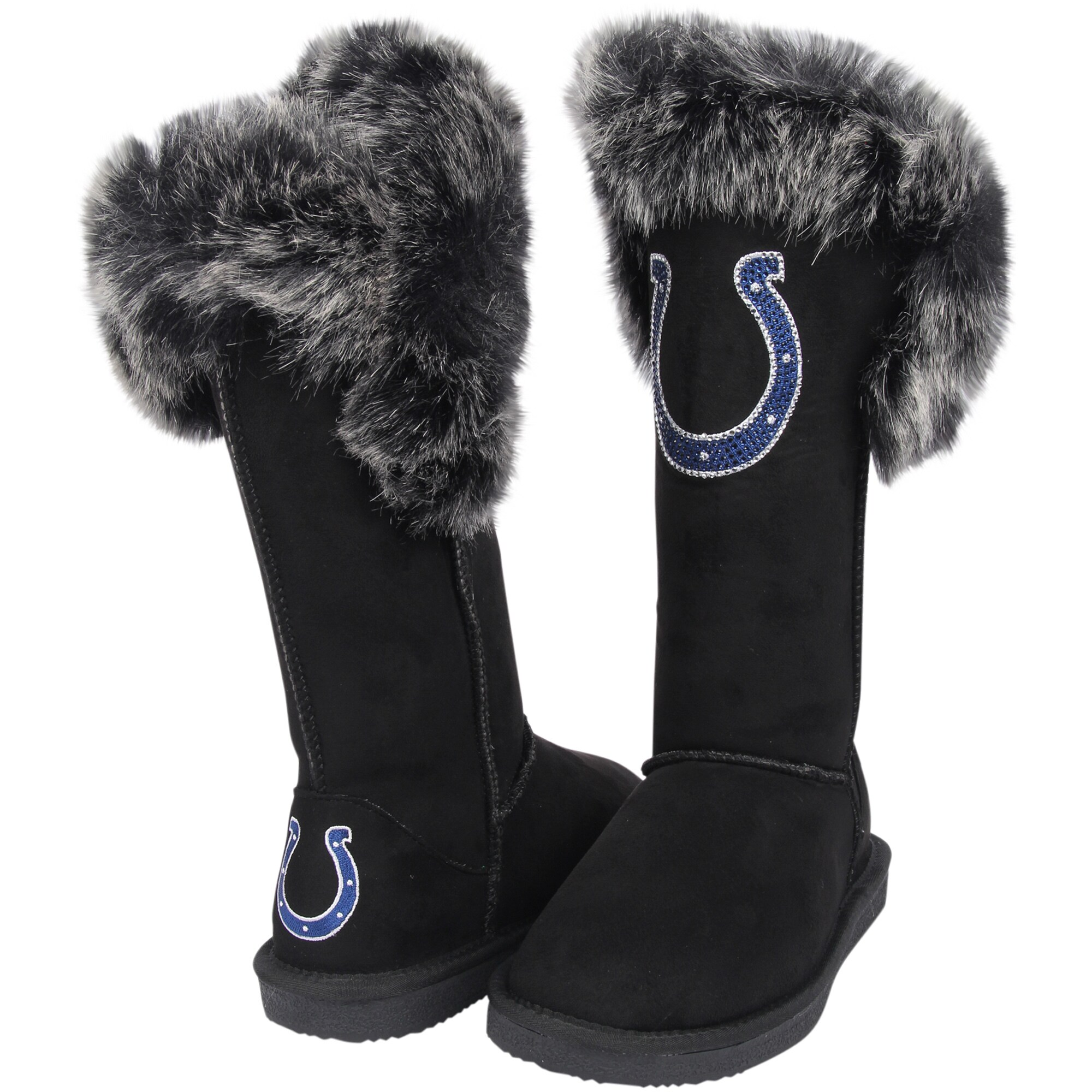 Indianapolis Colts Cuce Women's Devoted Boots - Black