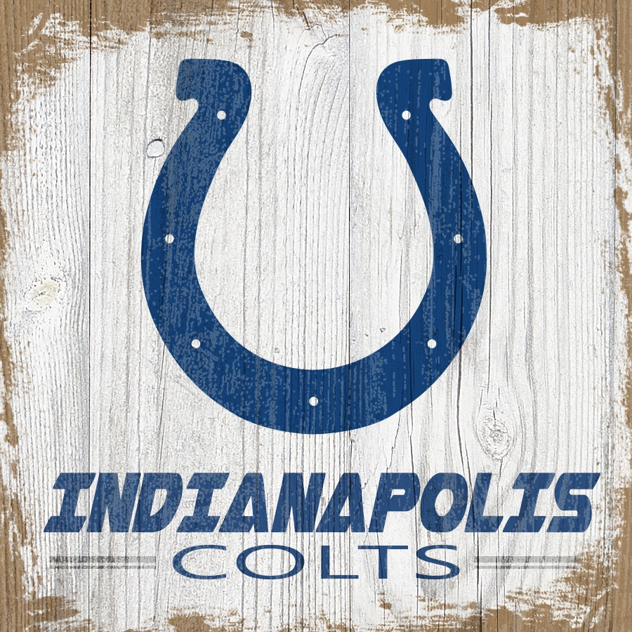 Indianapolis Colts 6'' x 6'' Team Logo Block