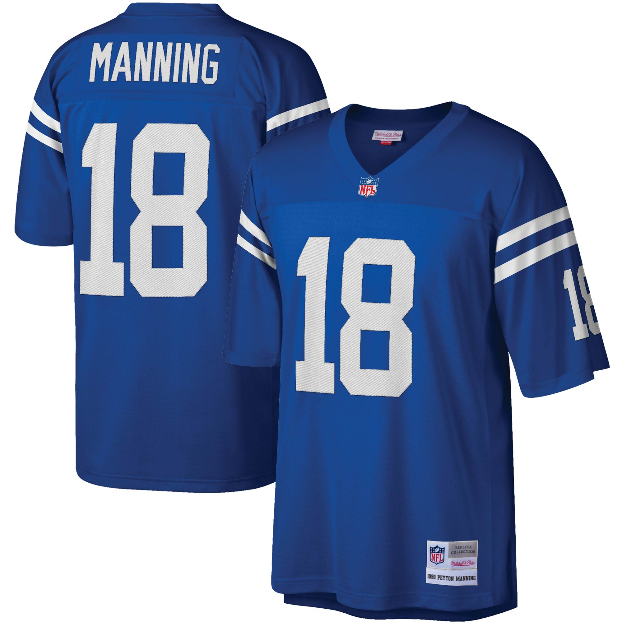 Peyton Manning Indianapolis Colts Mitchell & Ness Legacy Replica Jersey - Royal