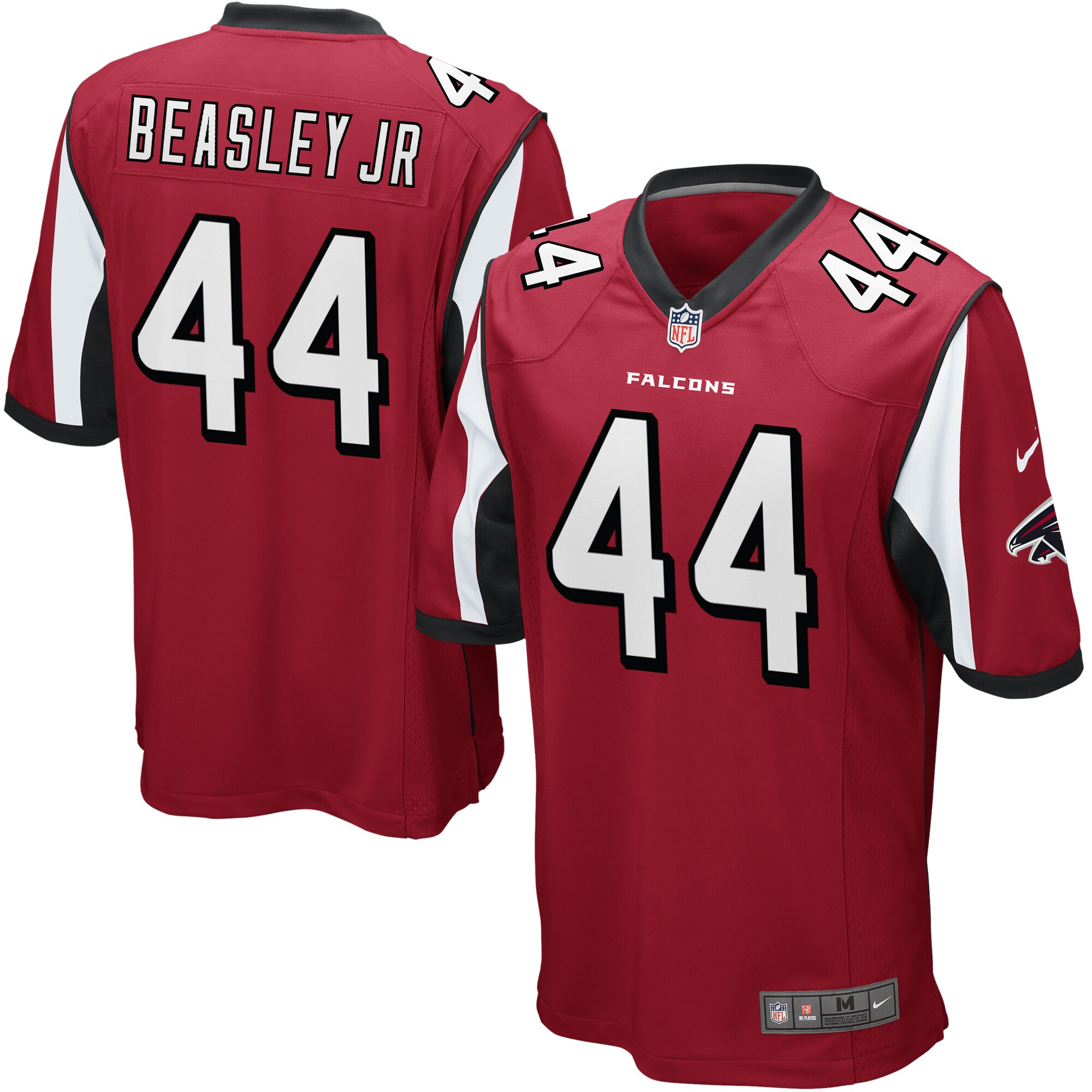 Vic Beasley Atlanta Falcons Nike Game Jersey - Red