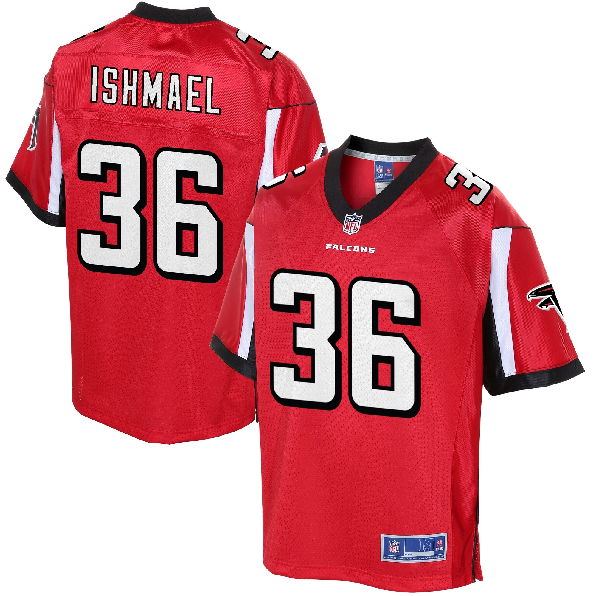 Youth Atlanta Falcons Kemal Ishmael NFL Pro Line Team Color Jersey