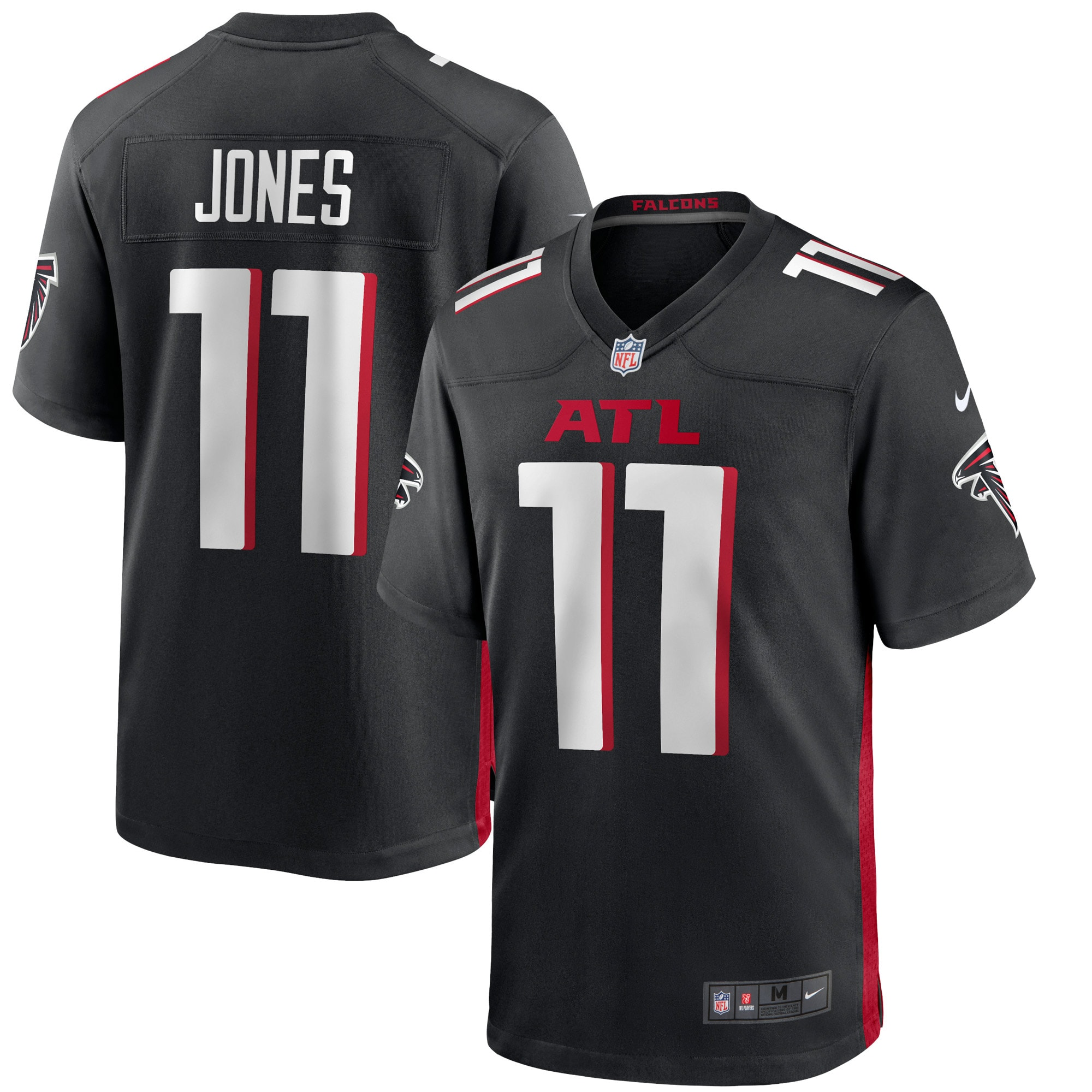 Julio Jones Atlanta Falcons Nike Game Jersey - Black