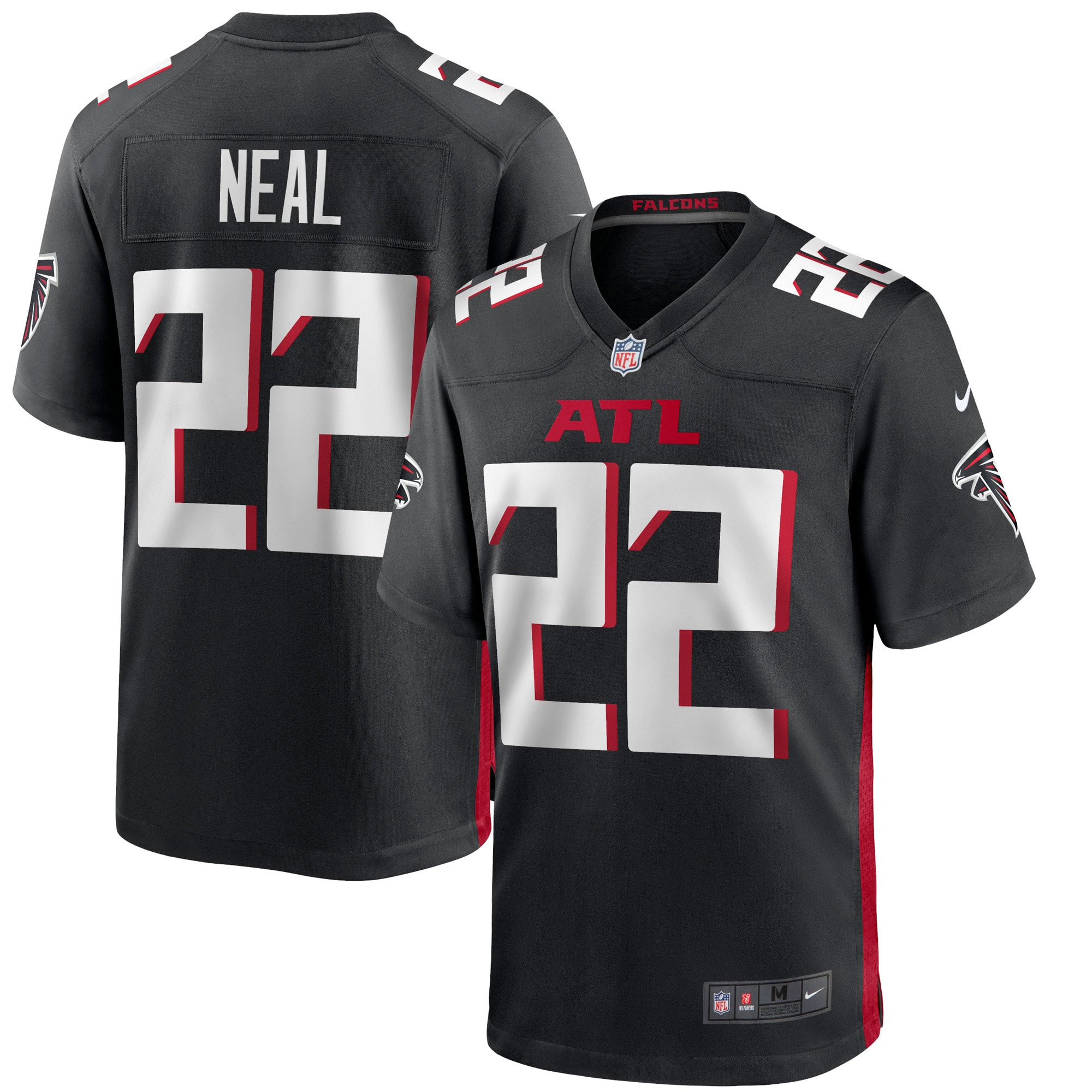 Keanu Neal Atlanta Falcons Nike Game Jersey - Black