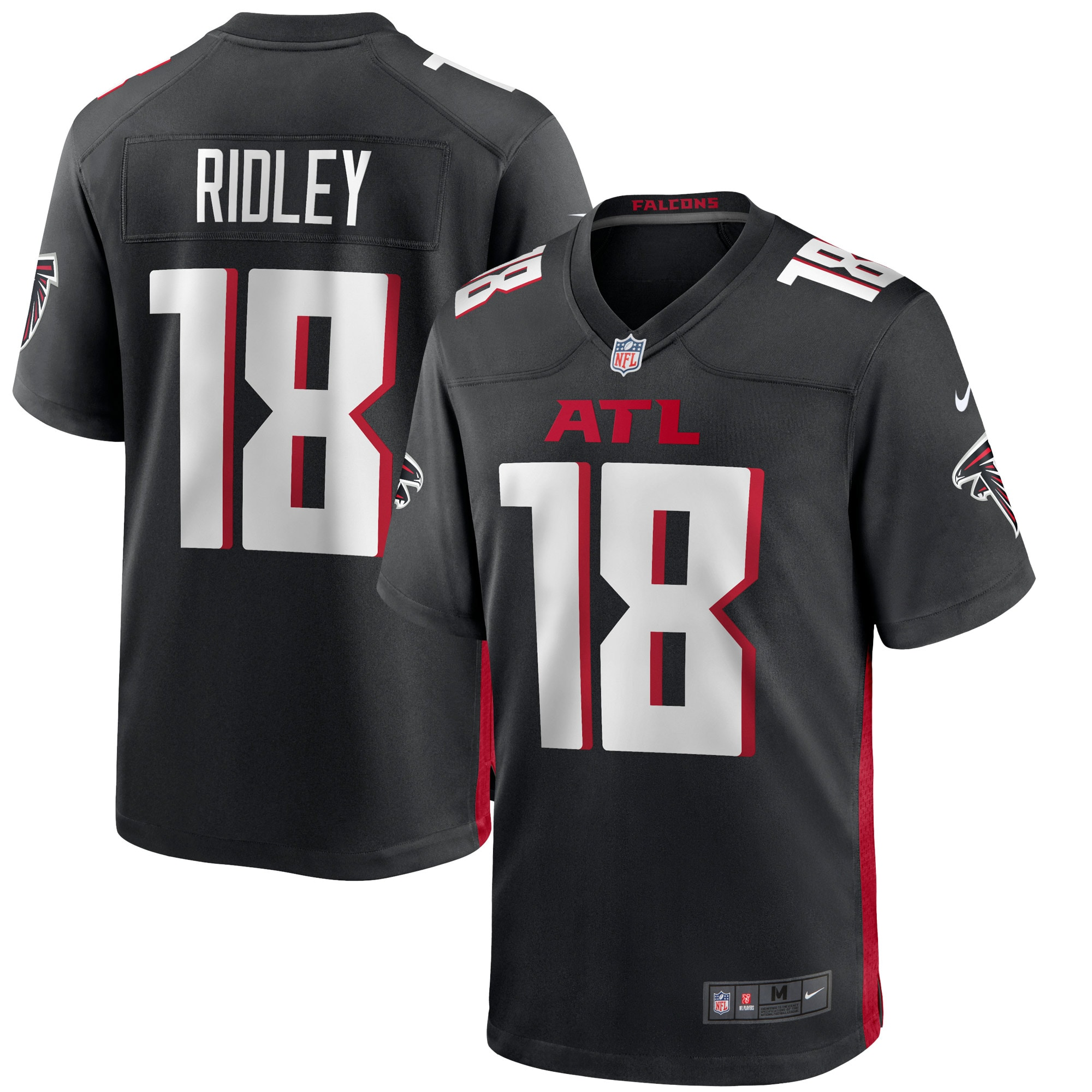 Calvin Ridley Atlanta Falcons Nike Game Jersey - Black