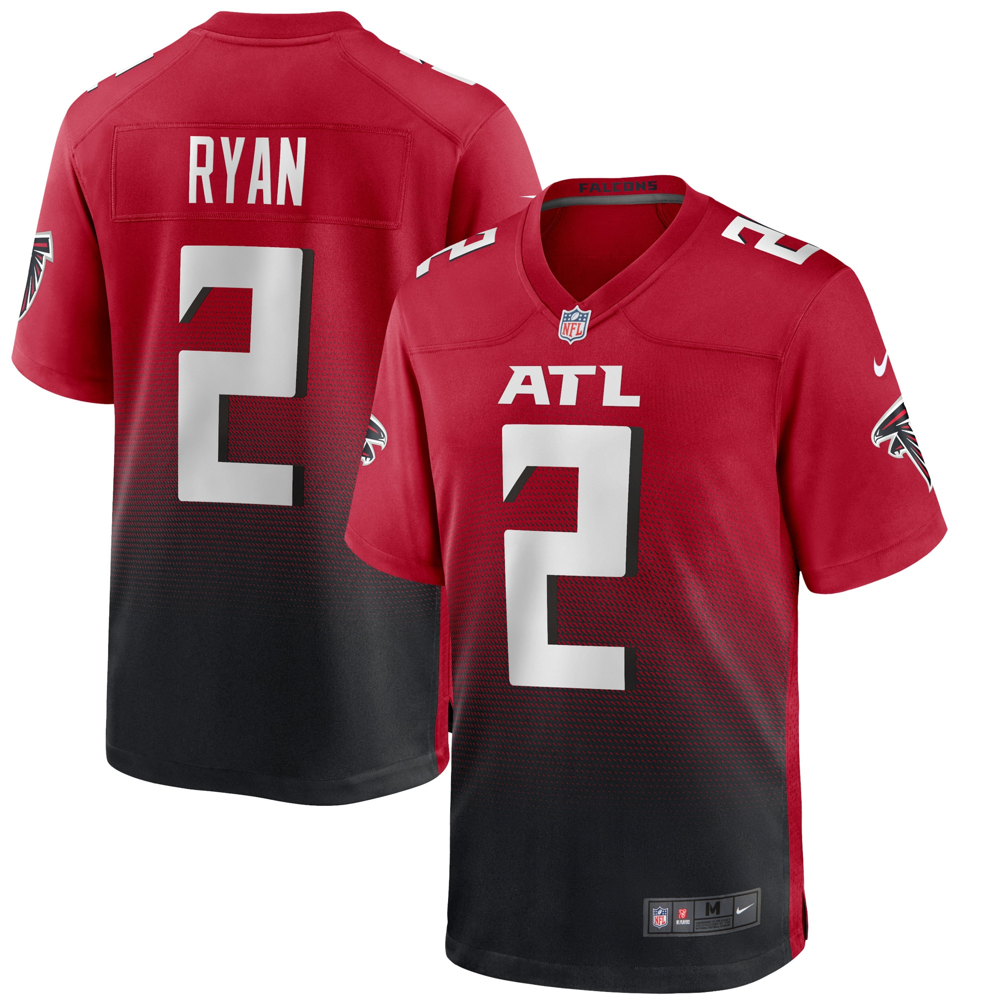 Matt Ryan Atlanta Falcons Nike 2nd Alternate Game Jersey - Red