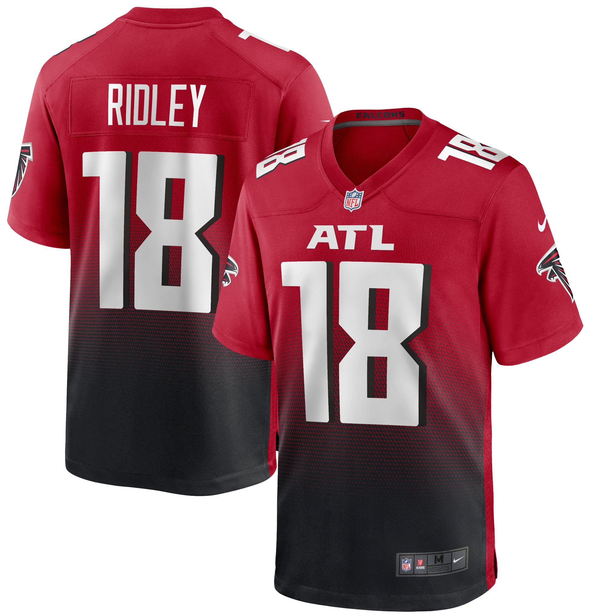 Calvin Ridley Atlanta Falcons Nike 2nd Alternate Game Jersey - Red