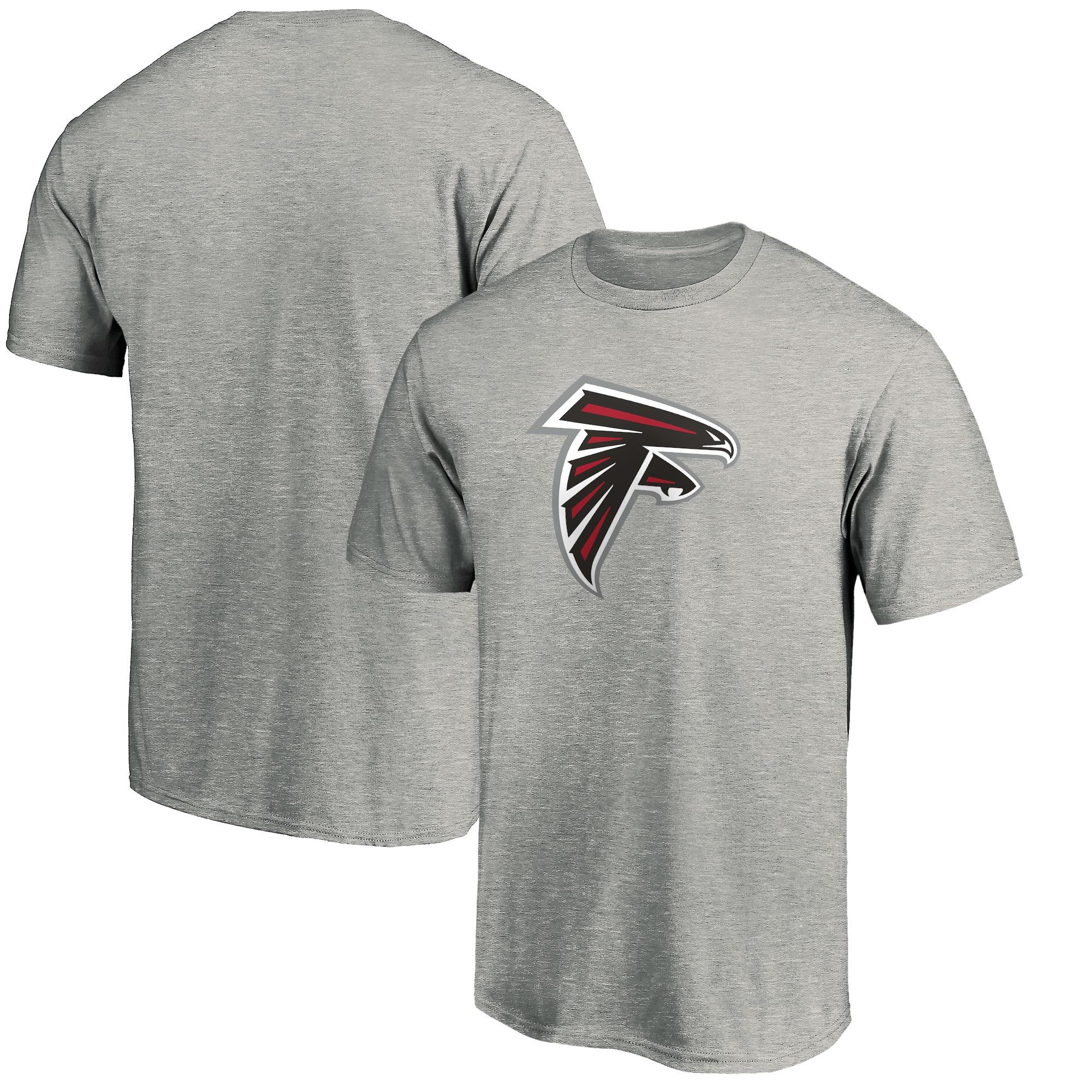 Atlanta Falcons NFL Pro Line by Fanatics Branded Primary Logo T-Shirt - Heather Gray