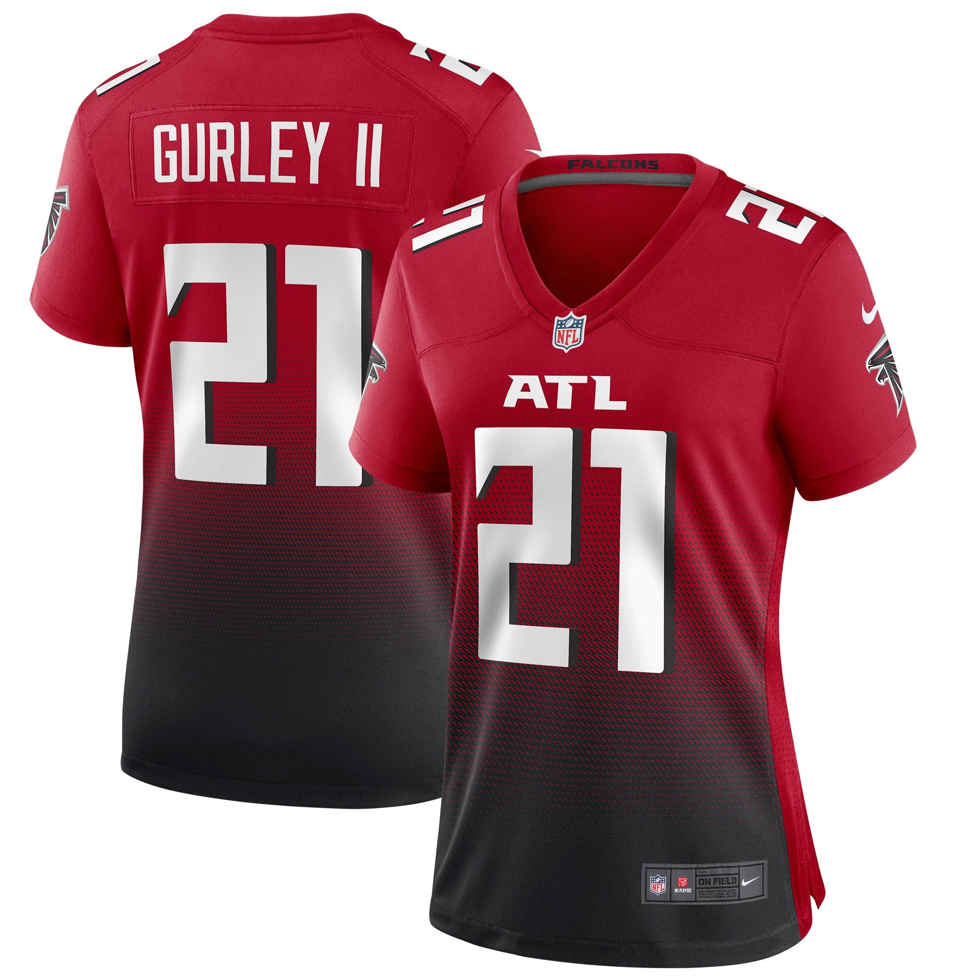 Todd Gurley II Atlanta Falcons Nike Women's 2nd Alternate Game Jersey - Red