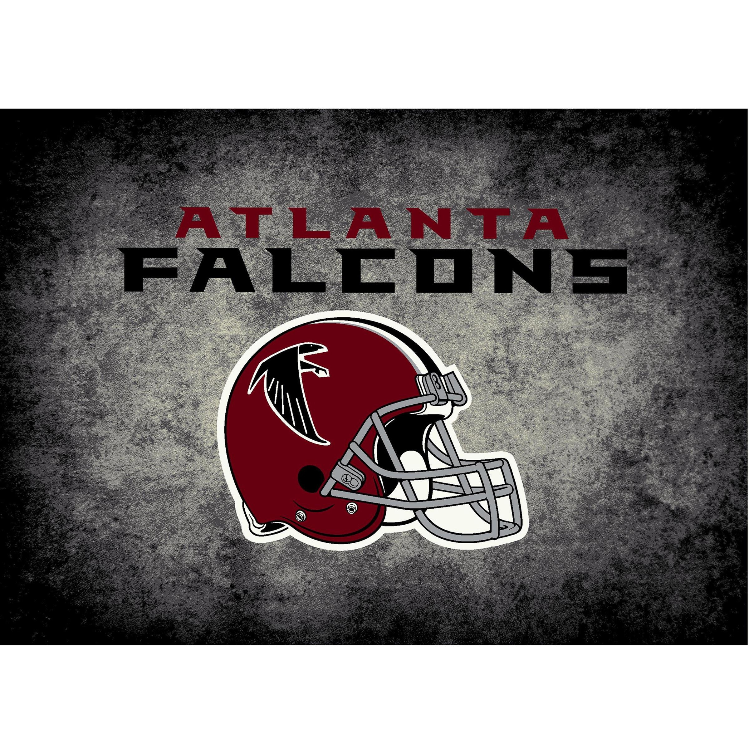 Atlanta Falcons Imperial 4' x 6' Distressed Rug
