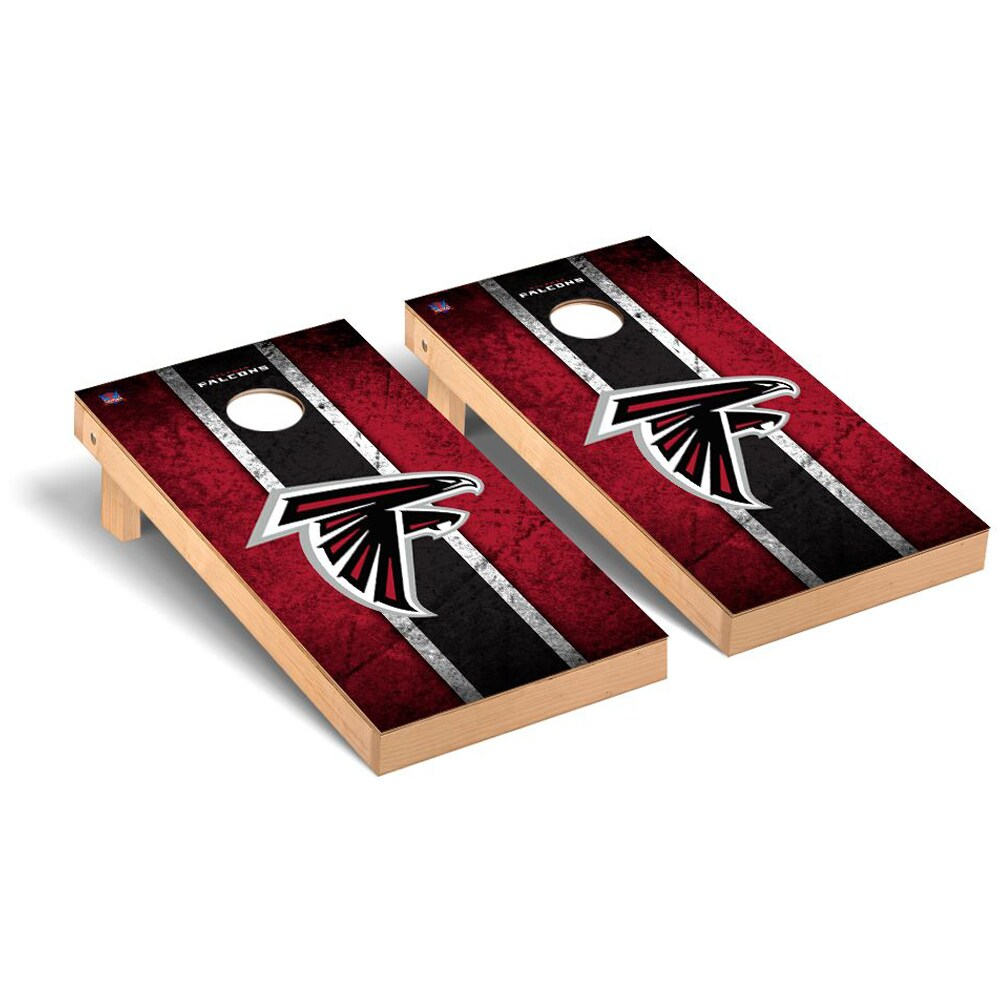 Atlanta Falcons 2' x 4' Vintage Regulation Cornhole Board Tailgate Toss Set