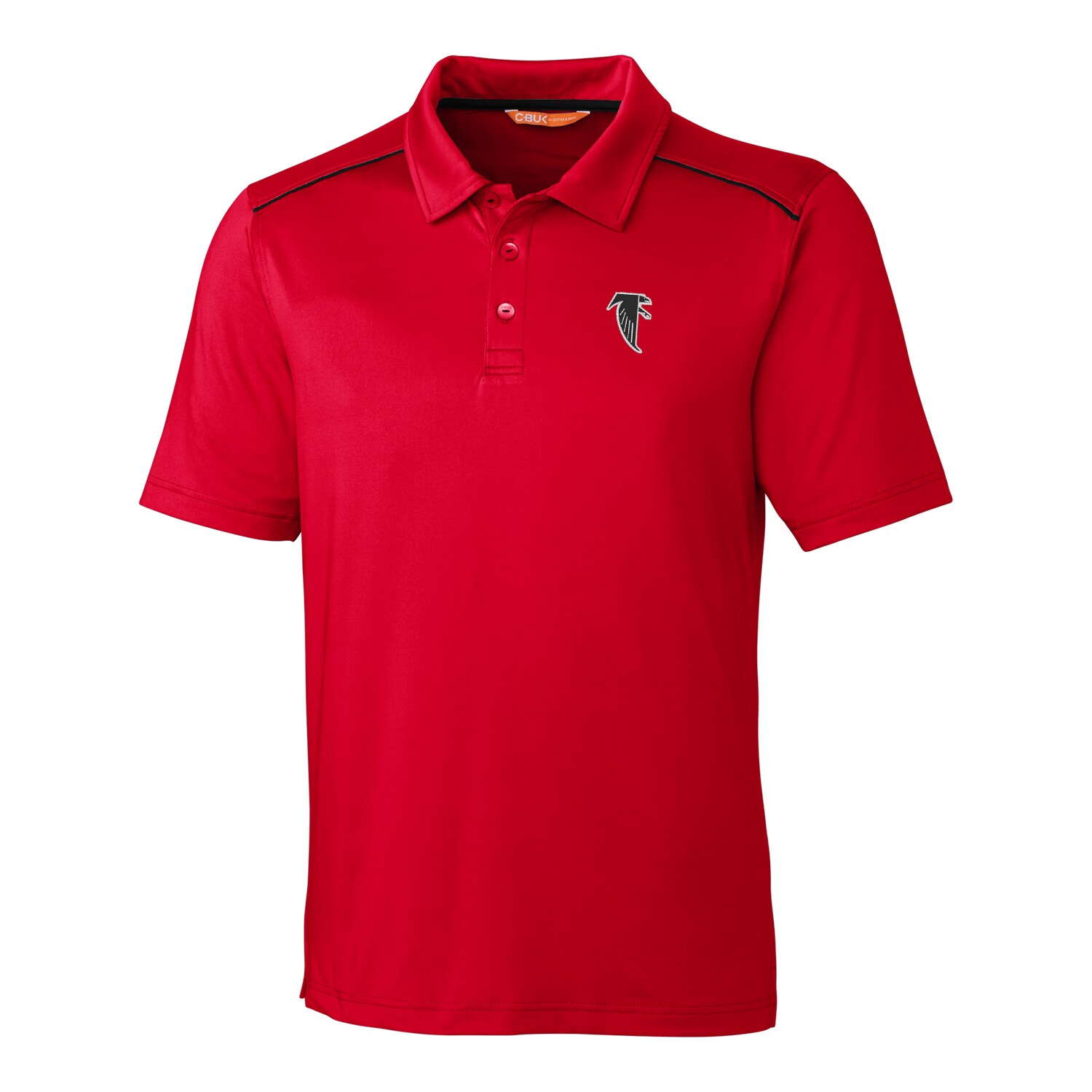Atlanta Falcons CBUK by Cutter & Buck Throwback Chance Polo - Red