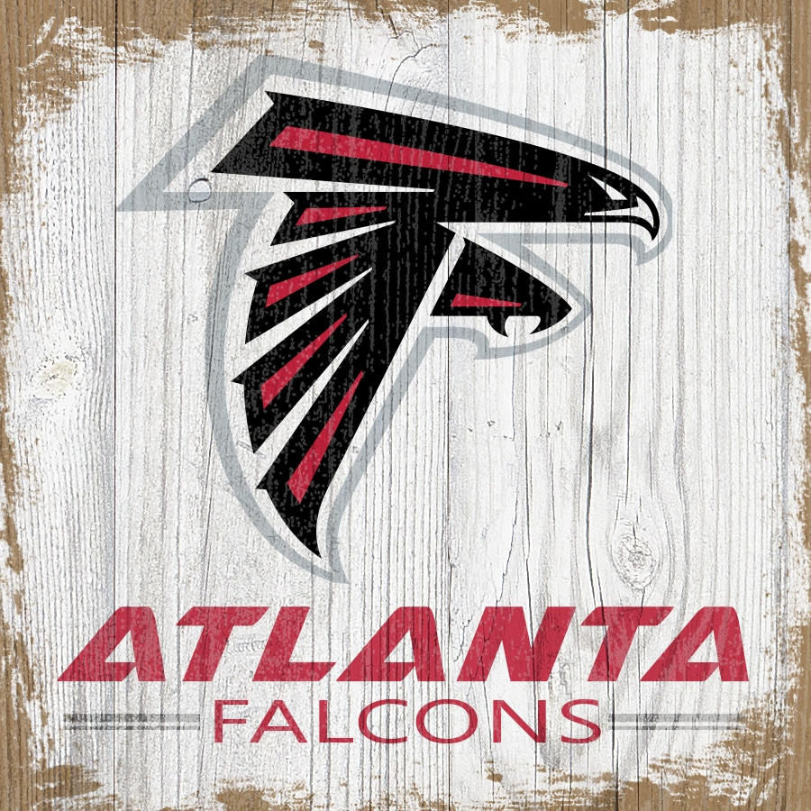 Atlanta Falcons 6'' x 6'' Team Logo Block
