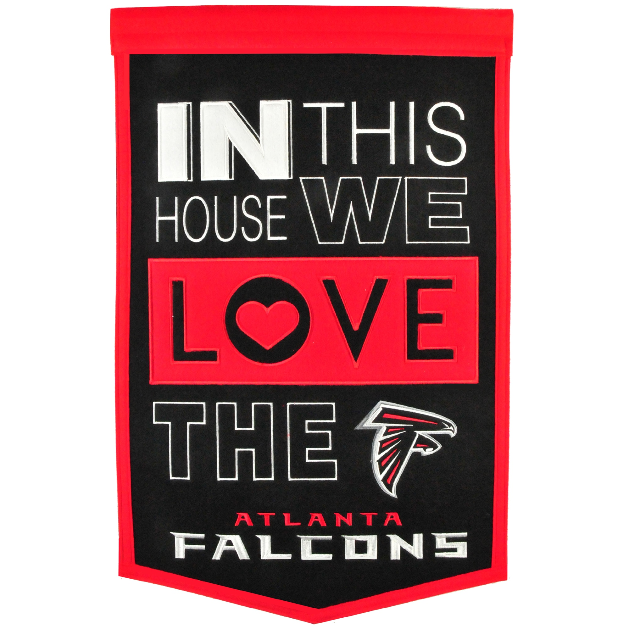 Atlanta Falcons 15'' x 24'' Home Banner
