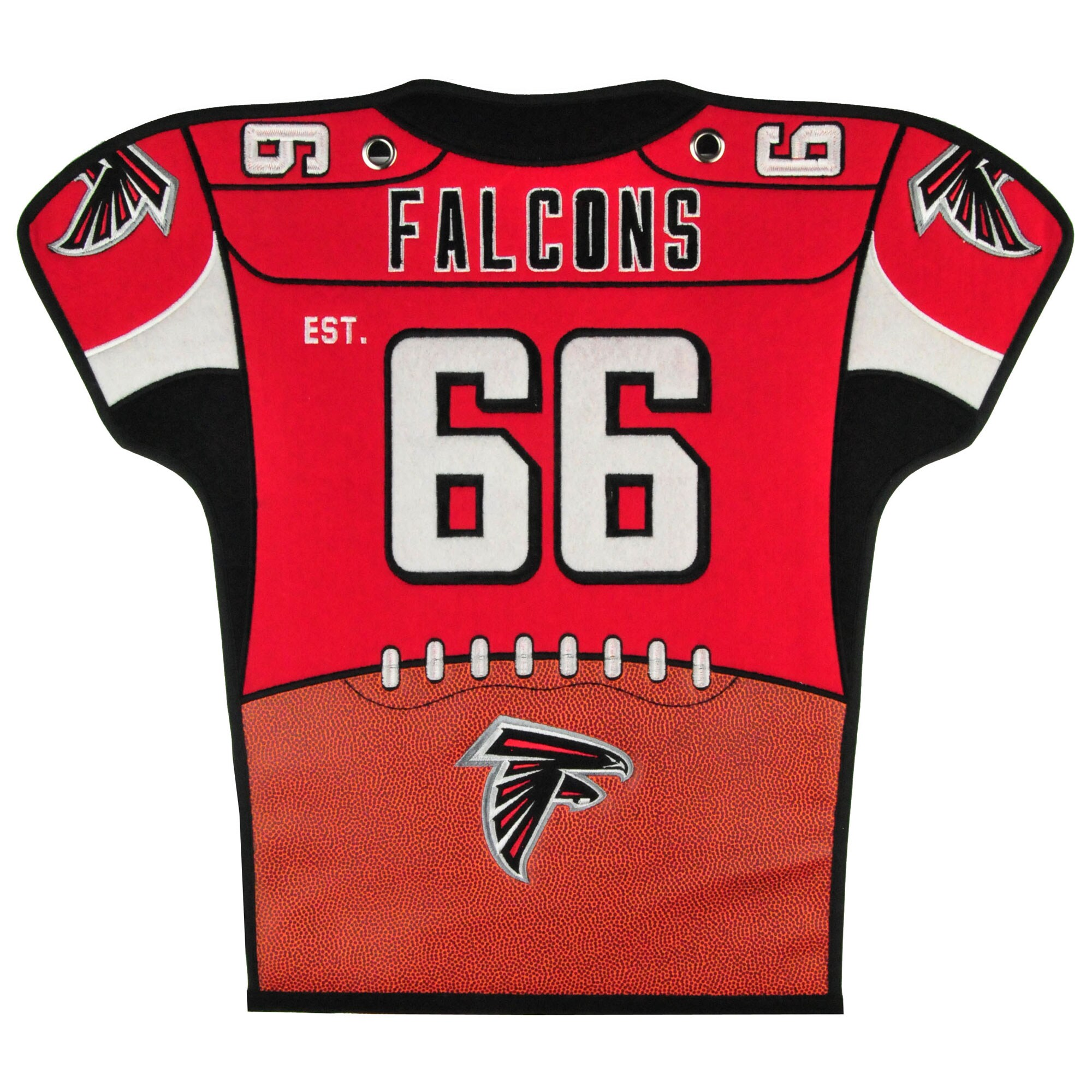 Atlanta Falcons 20'' x 18'' Jersey Traditions Banner