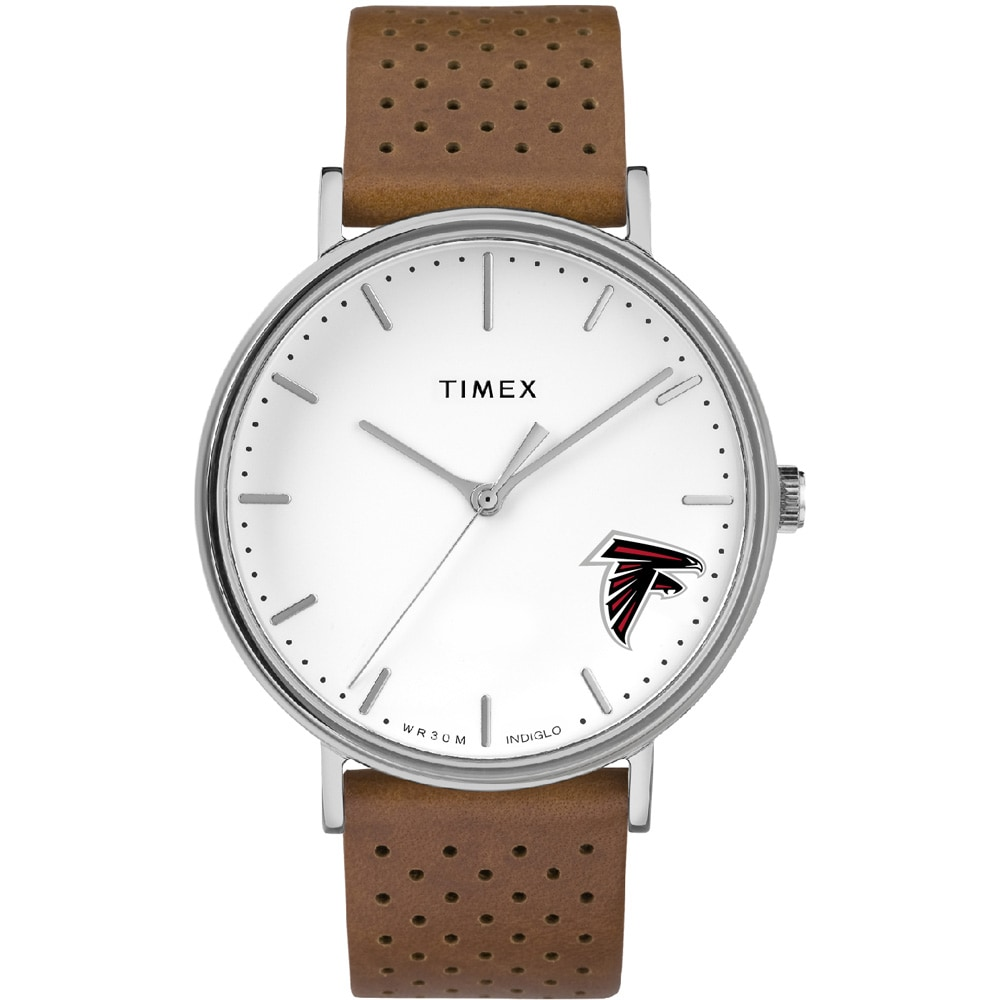 Atlanta Falcons Timex Bright Whites Tribute Collection Watch