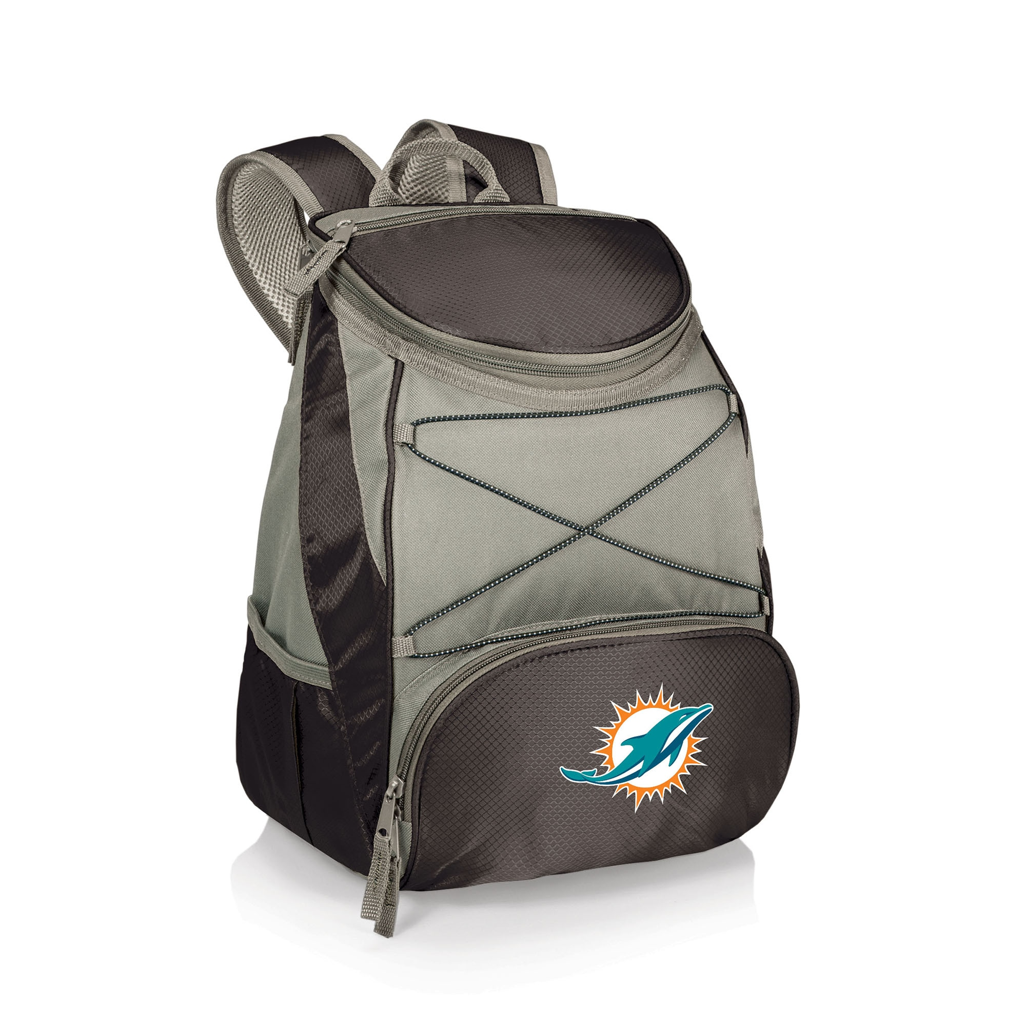 Miami Dolphins PTX Backpack Cooler - Black