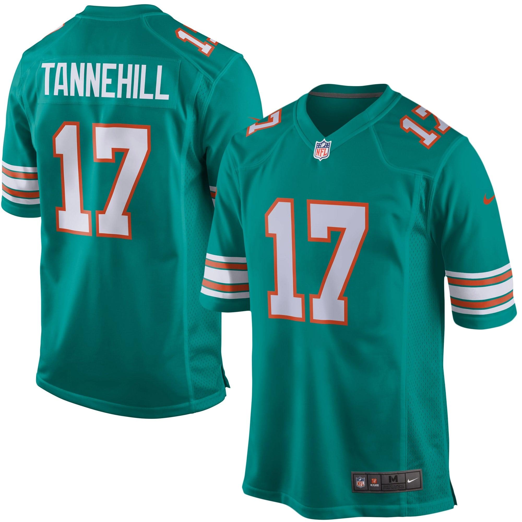 Ryan Tannehill Miami Dolphins Nike Youth Alternate Game Jersey - Aqua