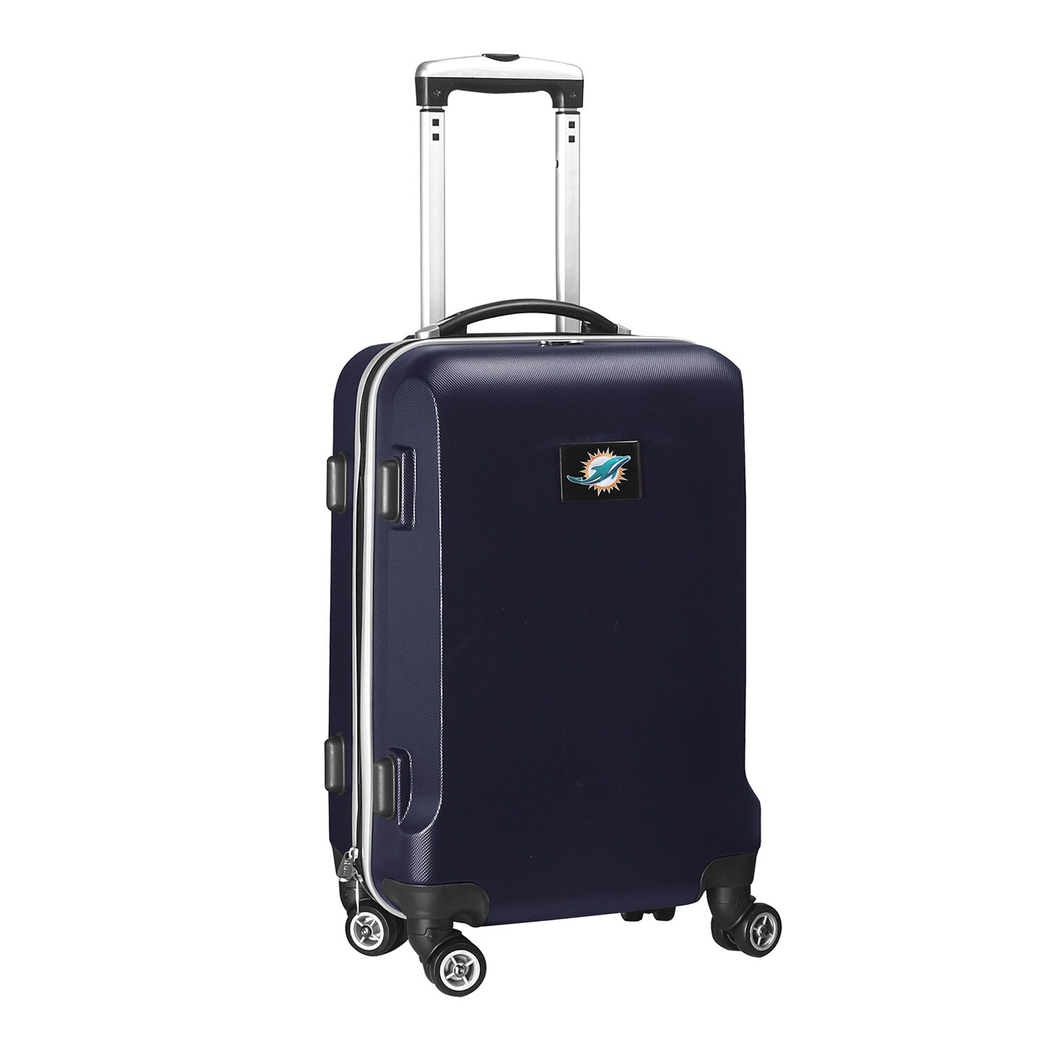 "Miami Dolphins 20"" 8-Wheel Hardcase Spinner Carry-On - Navy"