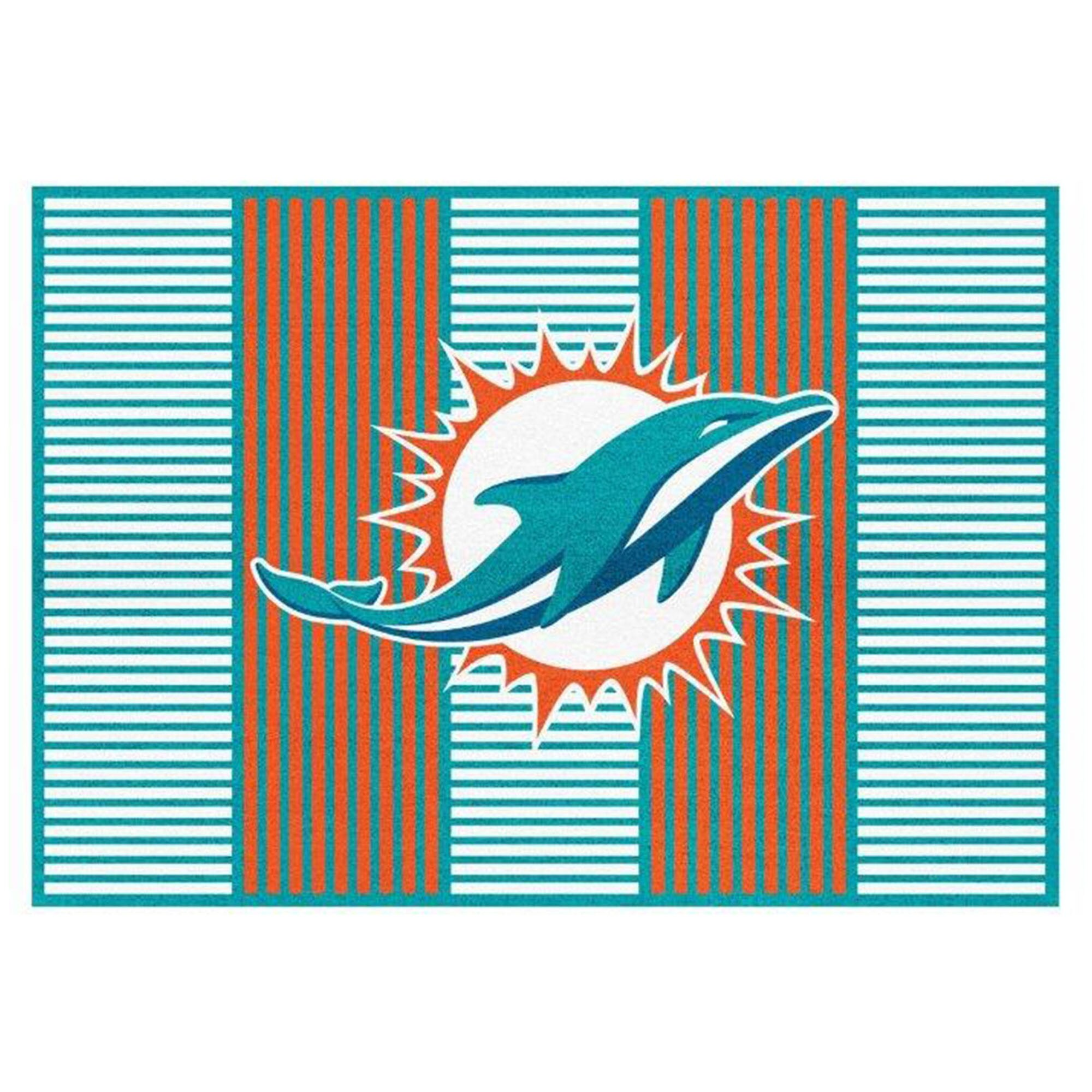 Miami Dolphins Imperial 8' x 11' Champion Rug