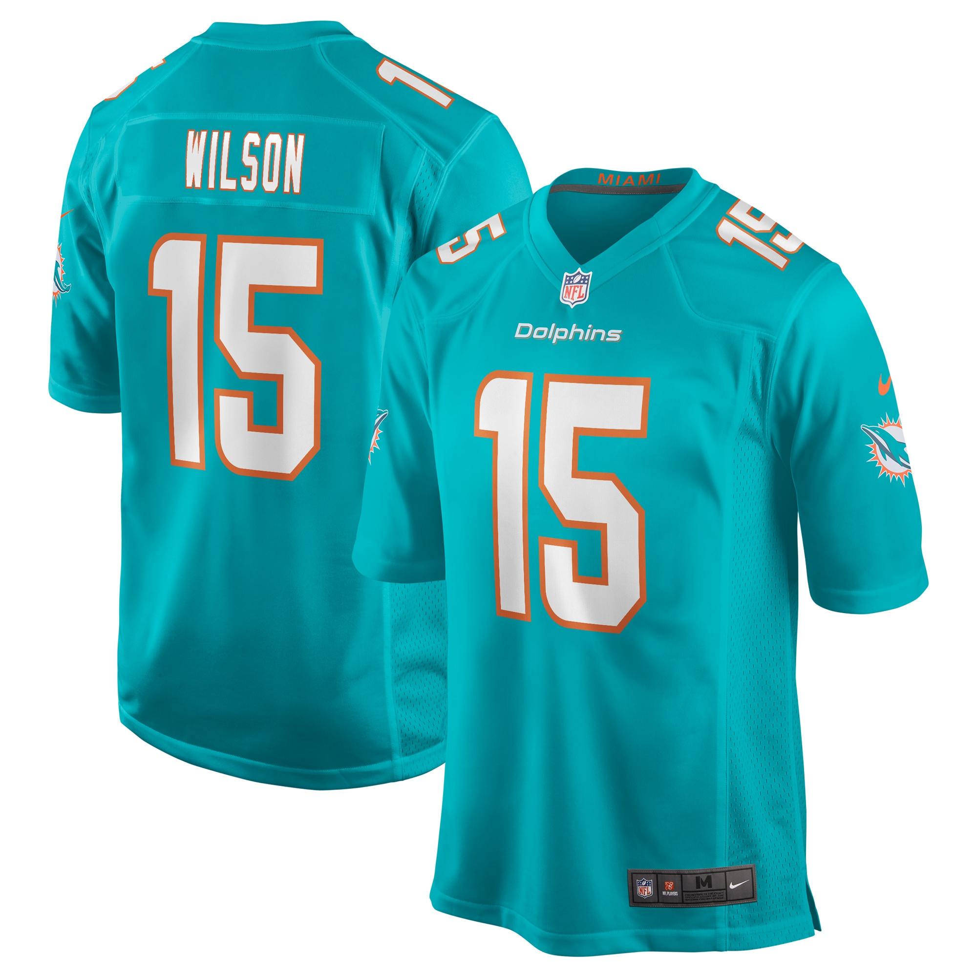 Albert Wilson Miami Dolphins Nike Game Jersey - Aqua