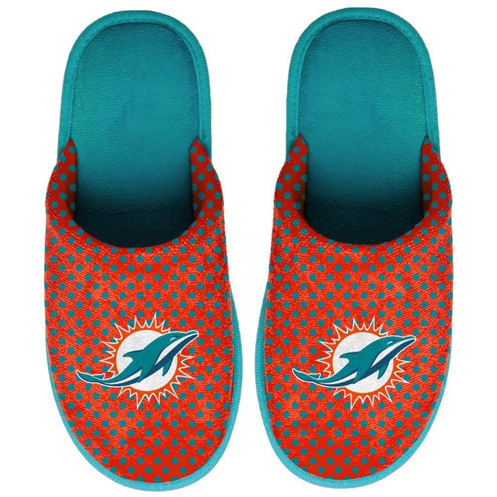 Miami Dolphins Women's Big Logo Scuff Slippers