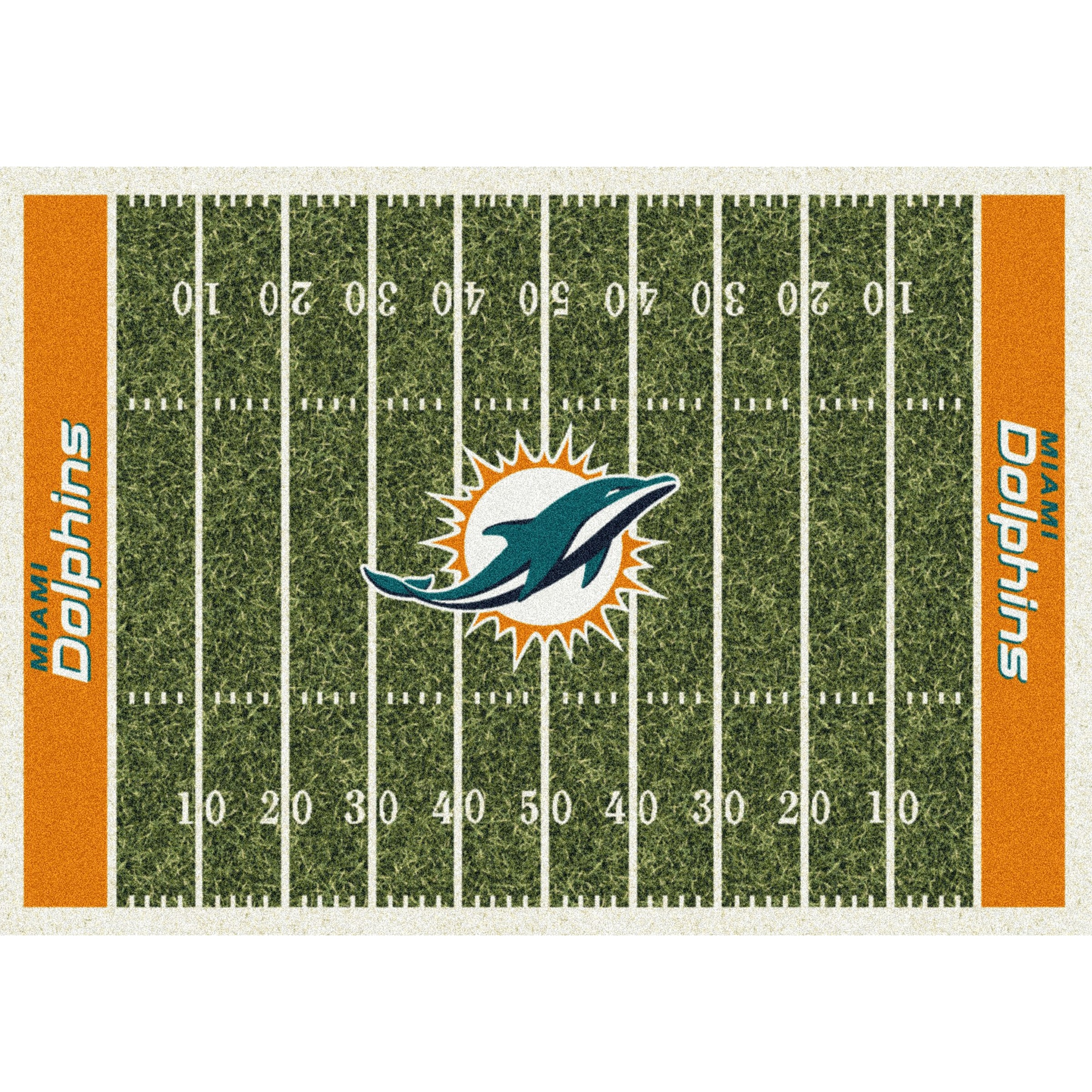 Miami Dolphins Imperial 4' x 6' Homefield Rug