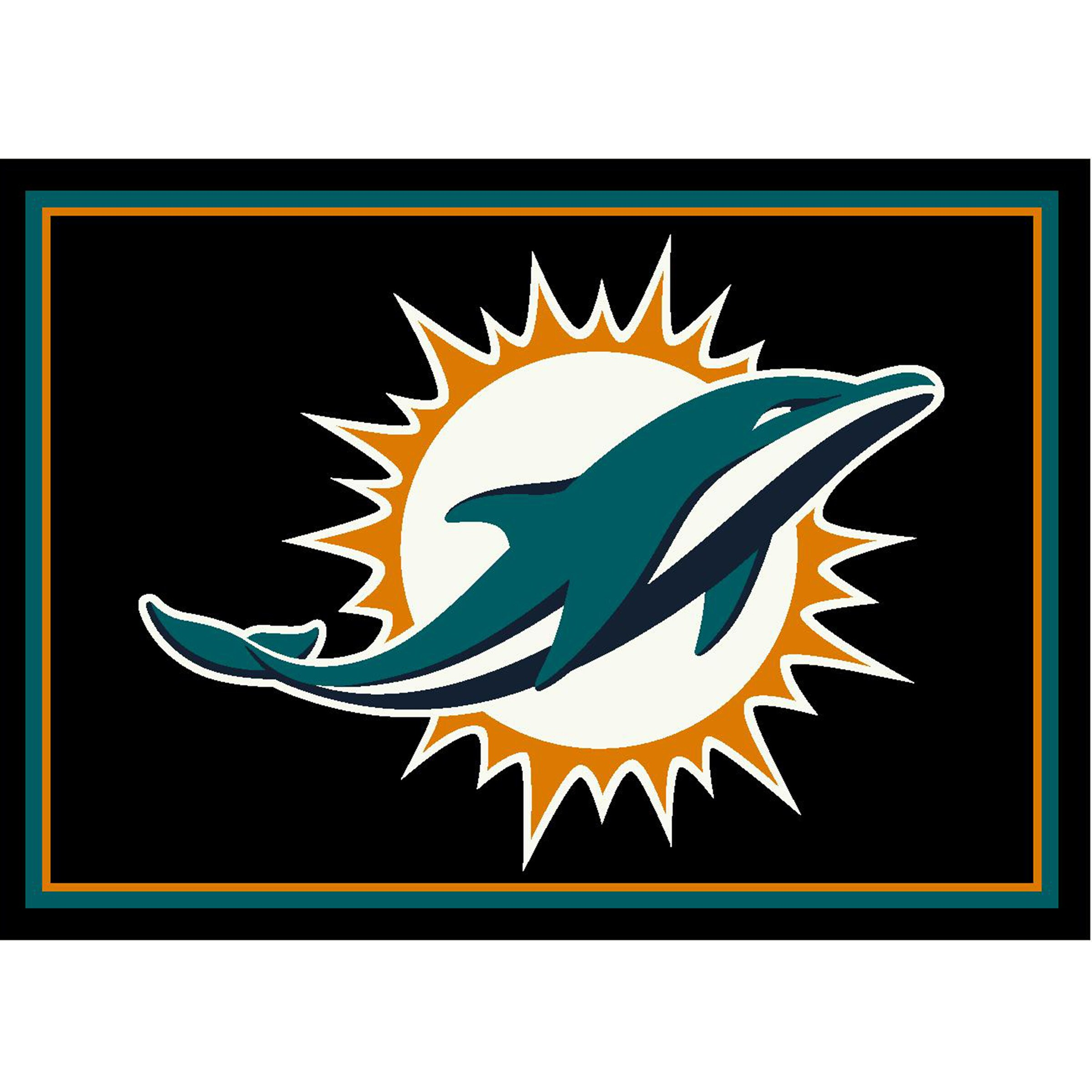 Miami Dolphins Imperial 4' x 6' Spirit Rug