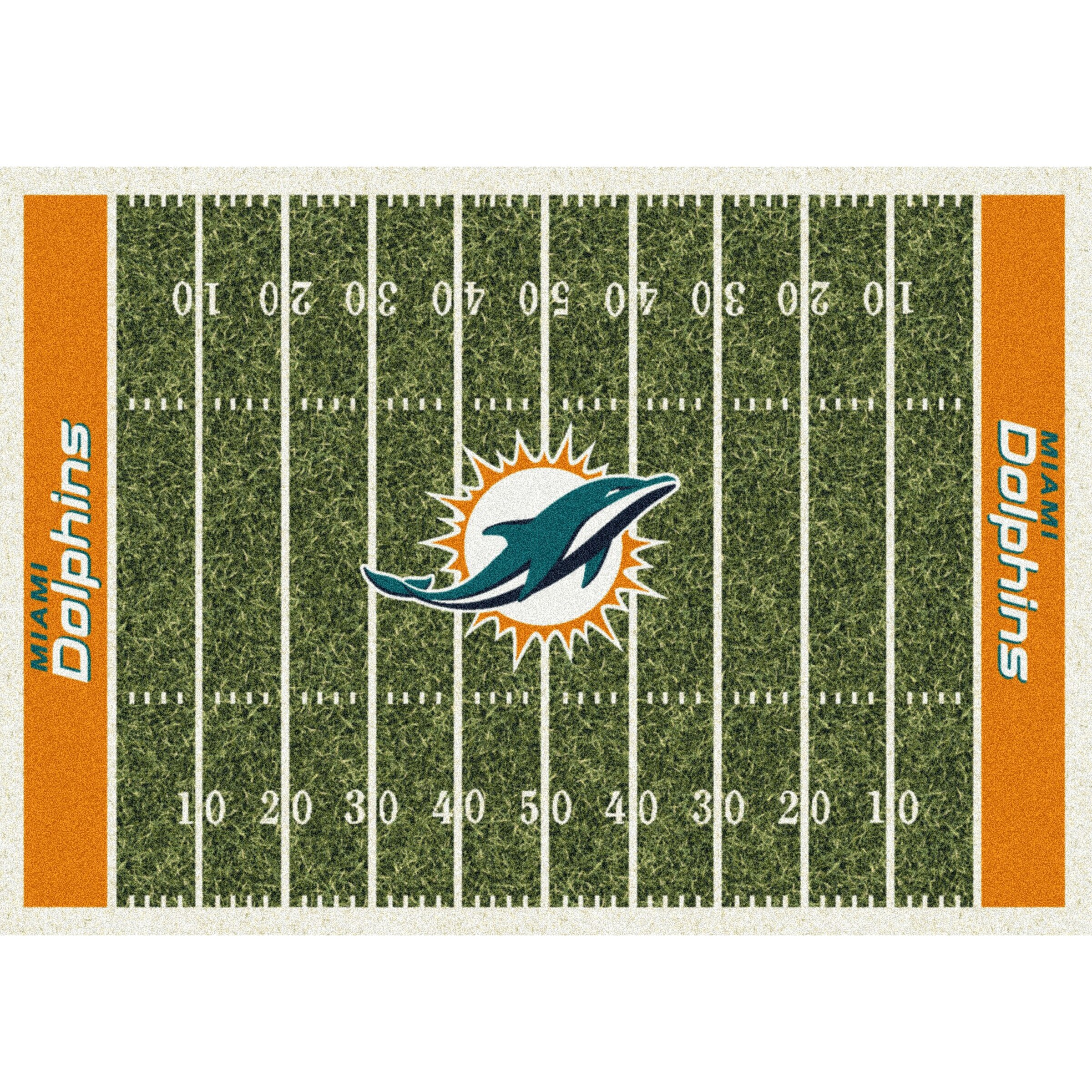 Miami Dolphins Imperial 6' x 8' Homefield Rug