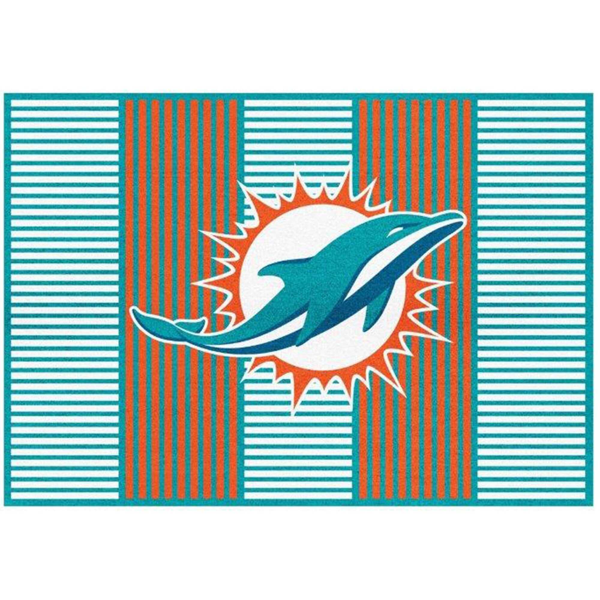 Miami Dolphins Imperial 6' x 8' Champion Rug