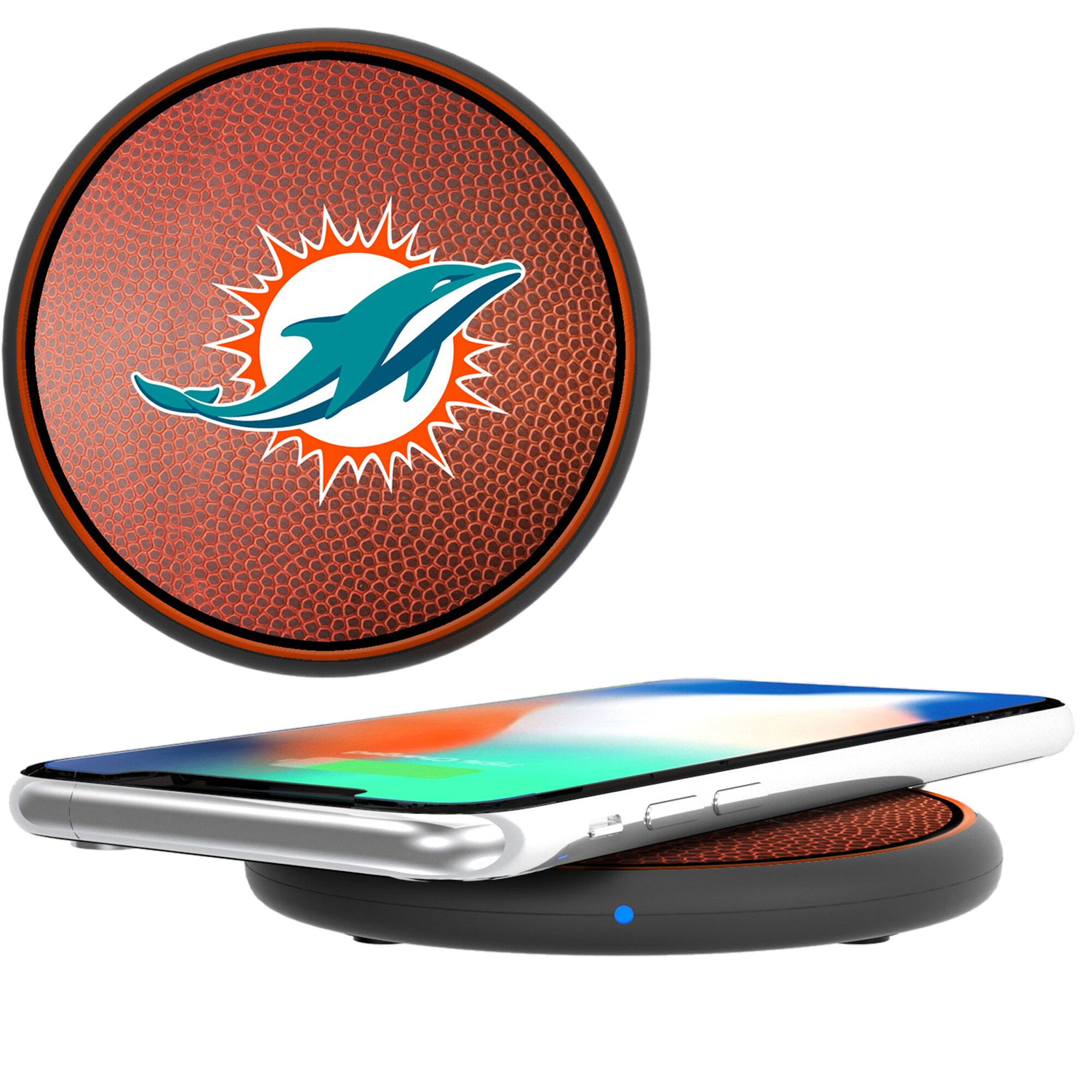 Miami Dolphins Wireless Cell Phone Charger