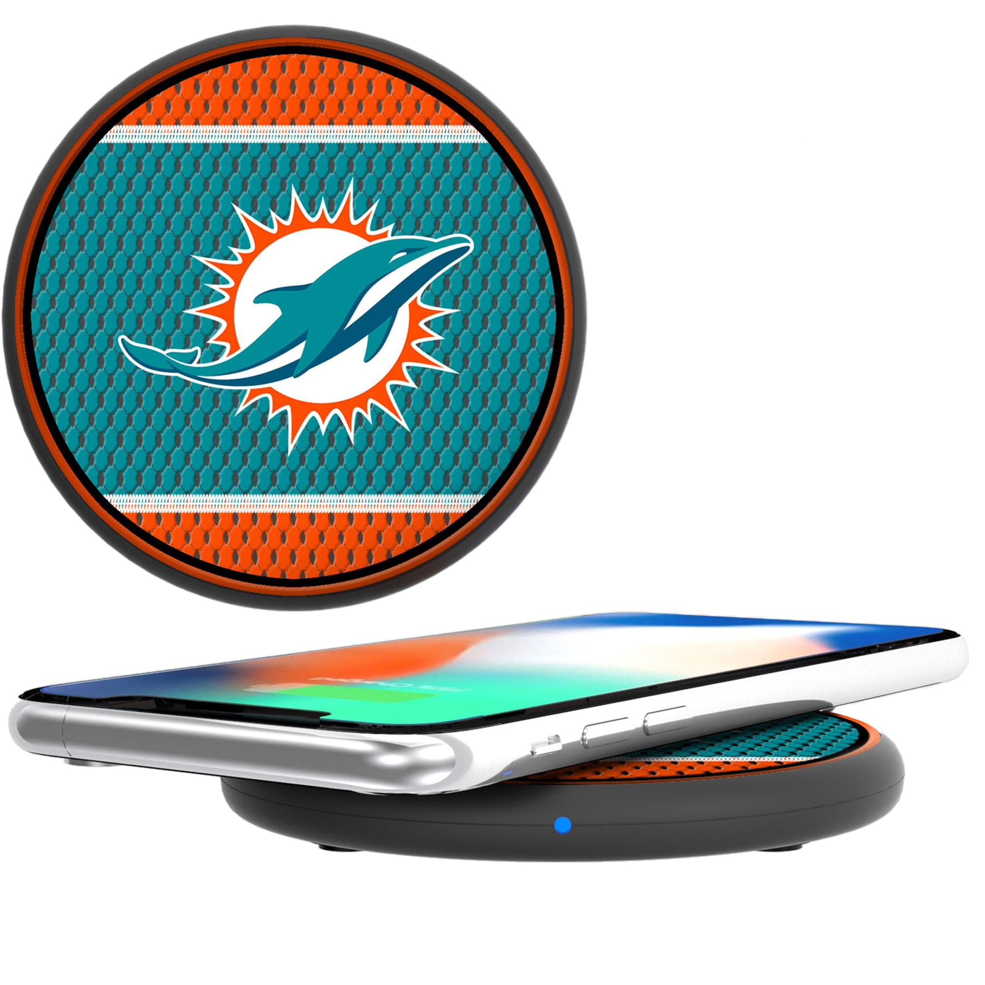Miami Dolphins Wireless Phone Charger