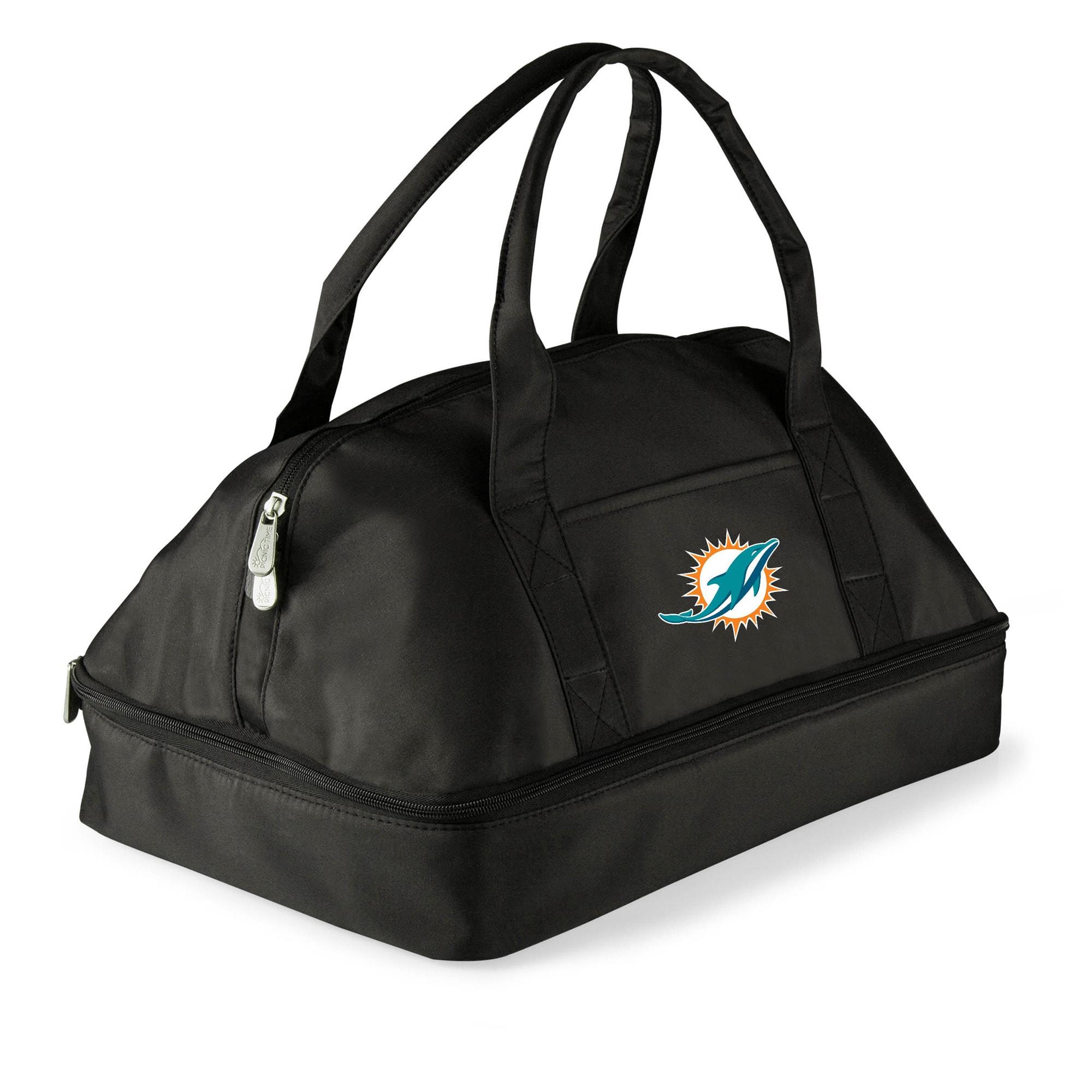 Miami Dolphins Potluck Casserole Tote - Black
