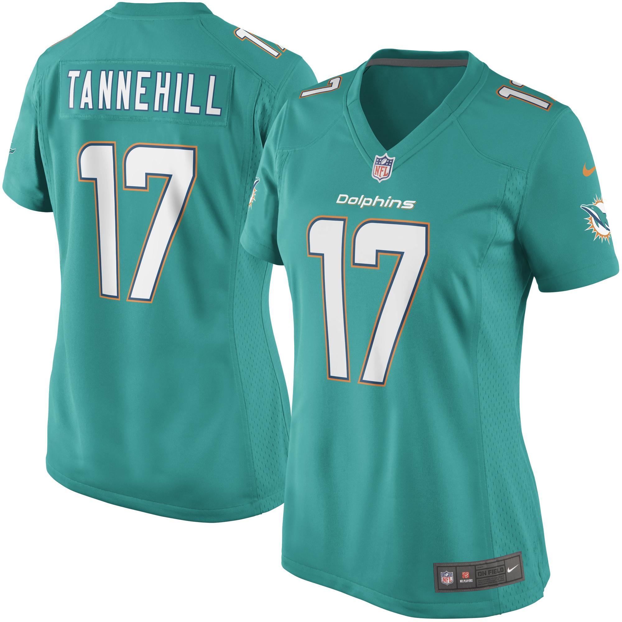 Ryan Tannehill Miami Dolphins Nike Women's Game Jersey - Aqua