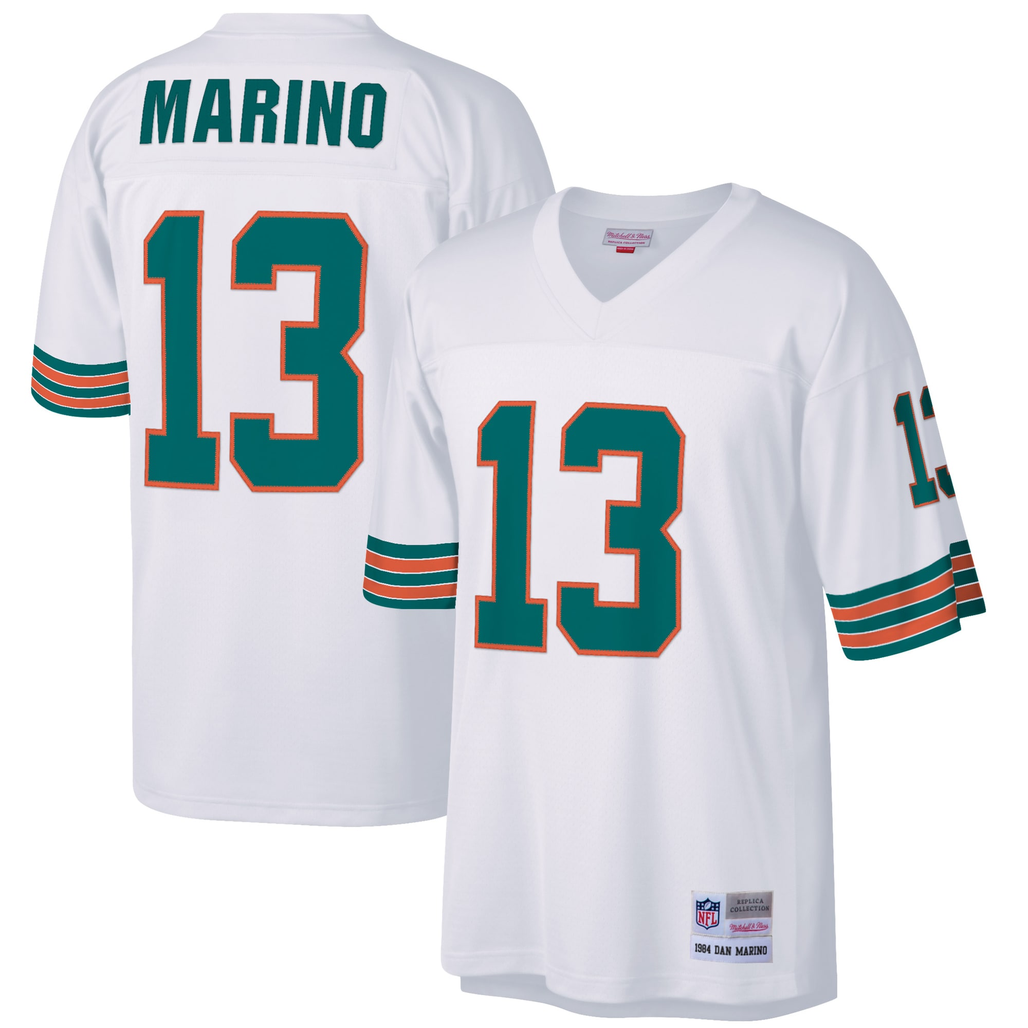 Dan Marino Miami Dolphins Mitchell & Ness Retired Player Legacy Replica Jersey - White