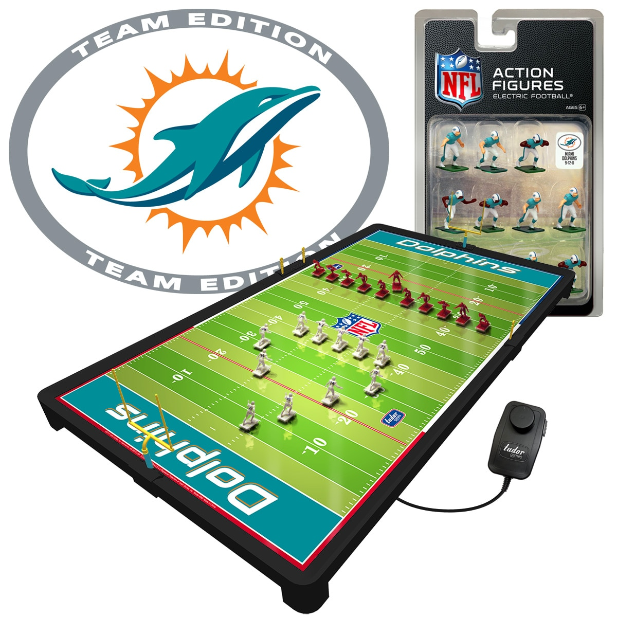 Miami Dolphins Deluxe Electric Football Game