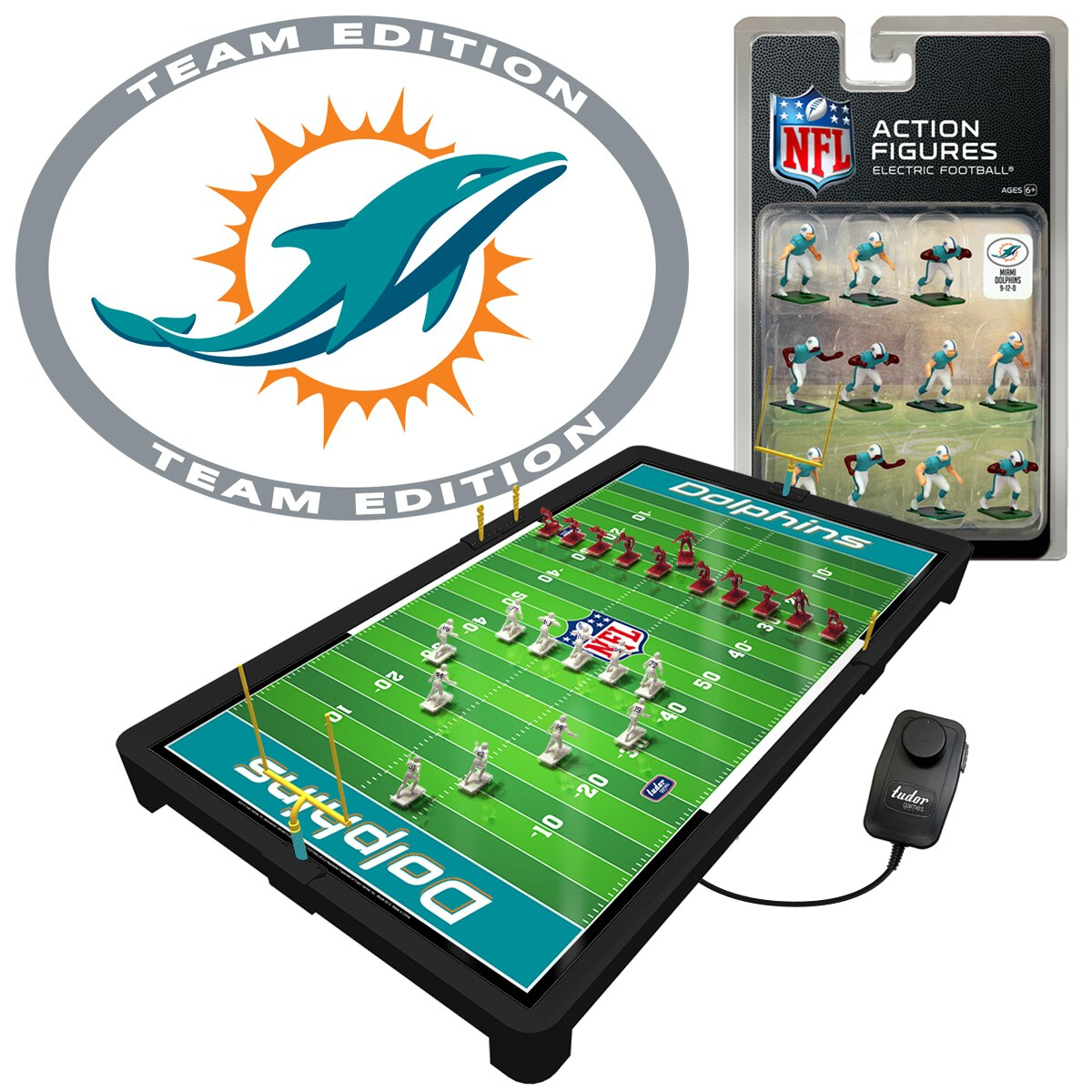 Miami Dolphins Electric Football Game