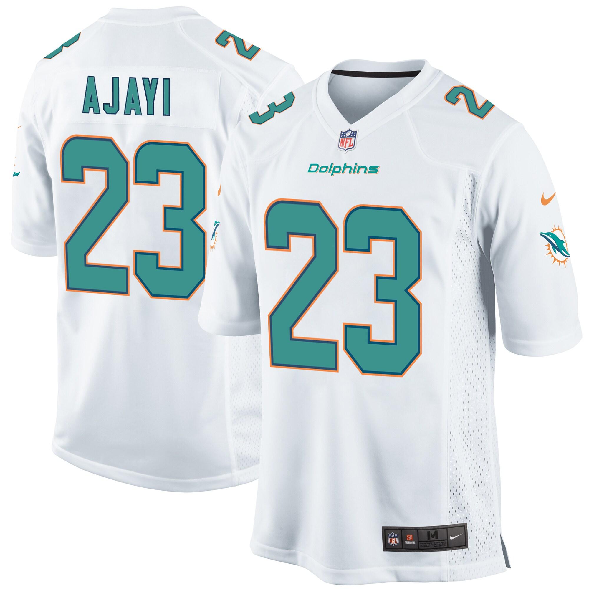 Jay Ajayi Miami Dolphins Nike Game Jersey - White
