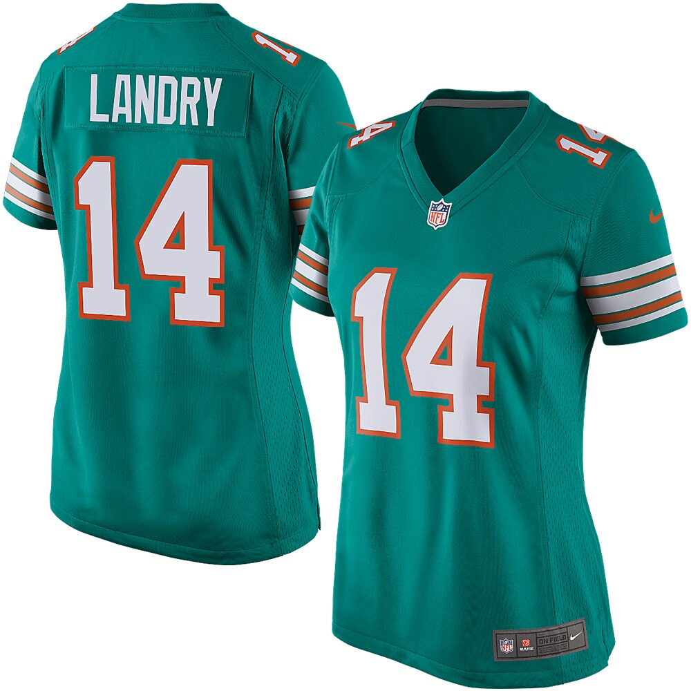 Jarvis Landry Miami Dolphins Nike Women's Alternate Game Jersey - Aqua