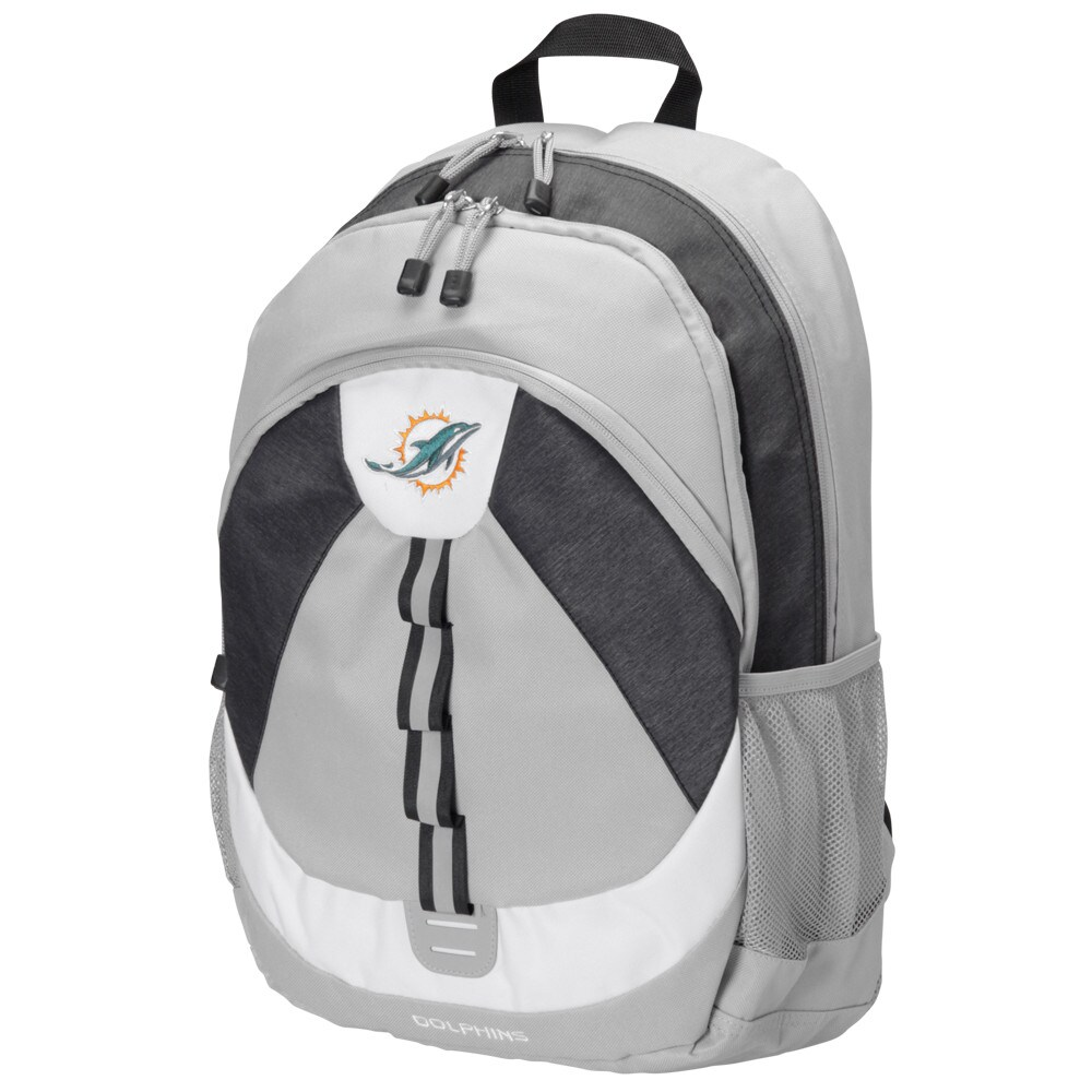 Miami Dolphins The Northwest Company Women's Kinetic Backpack - Gray