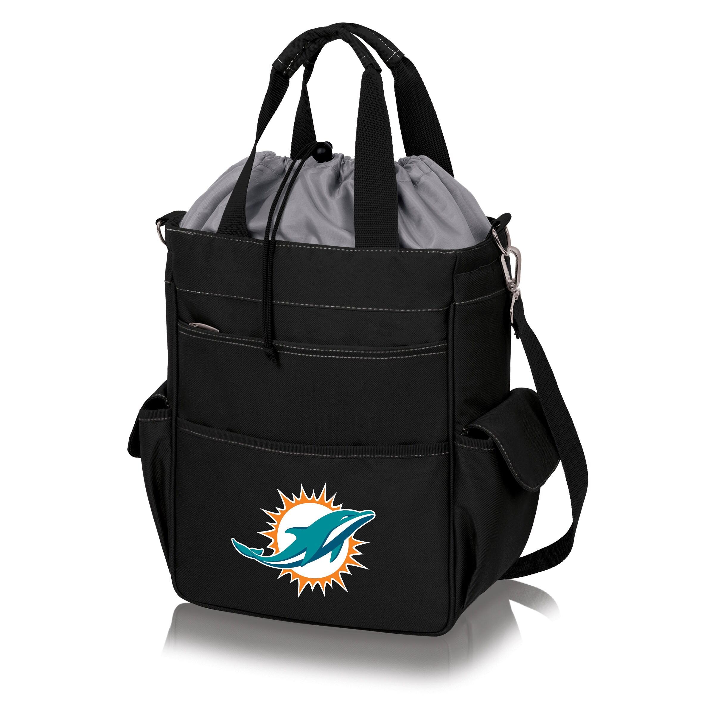 Miami Dolphins Activo Cooler Tote - Black