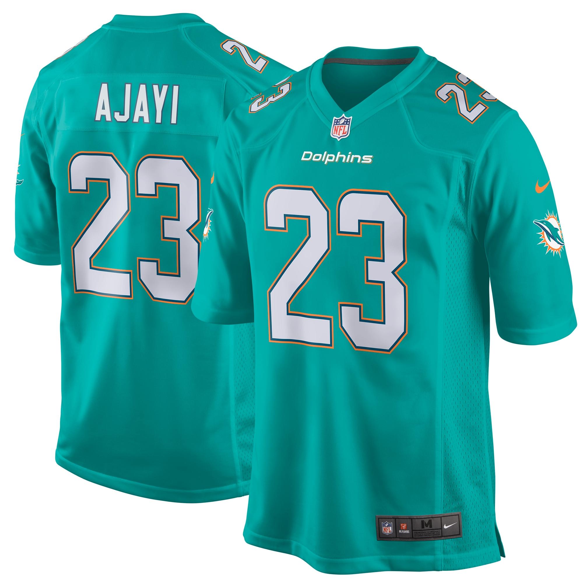 Jay Ajayi Miami Dolphins Nike Game Jersey - Aqua