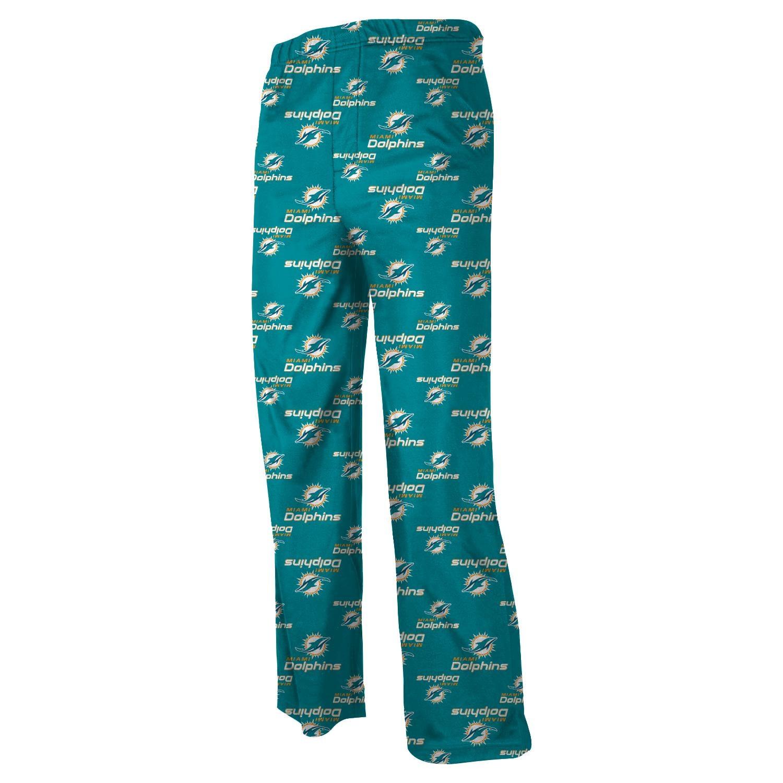 Miami Dolphins Toddler Allover Logo Pants - Aqua