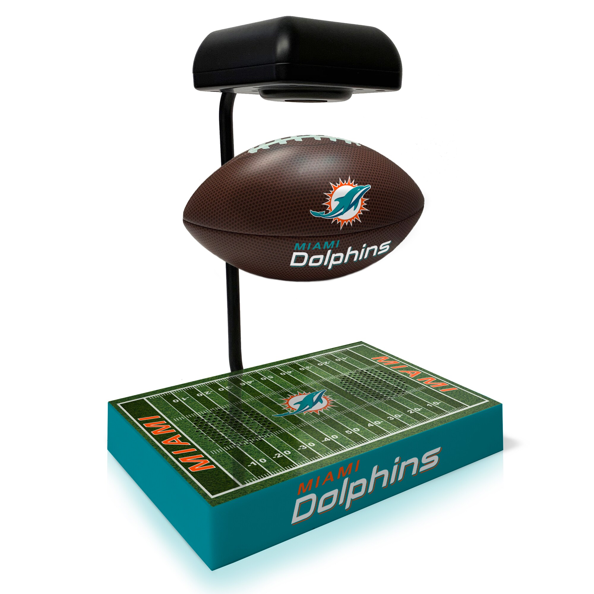 Miami Dolphins Hover Football With Bluetooth Speaker